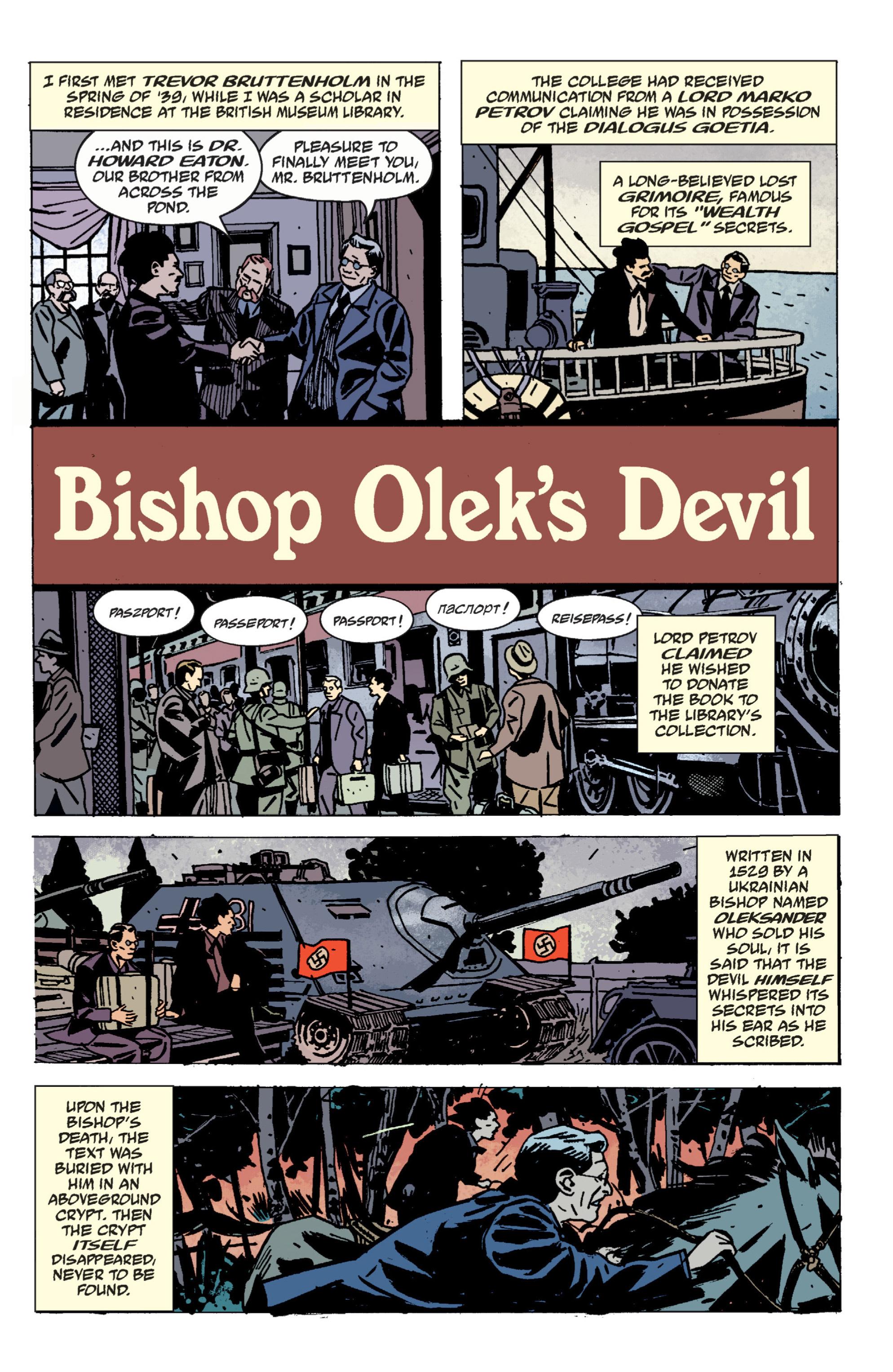 Read online B.P.R.D. (2003) comic -  Issue # TPB 9 - 137