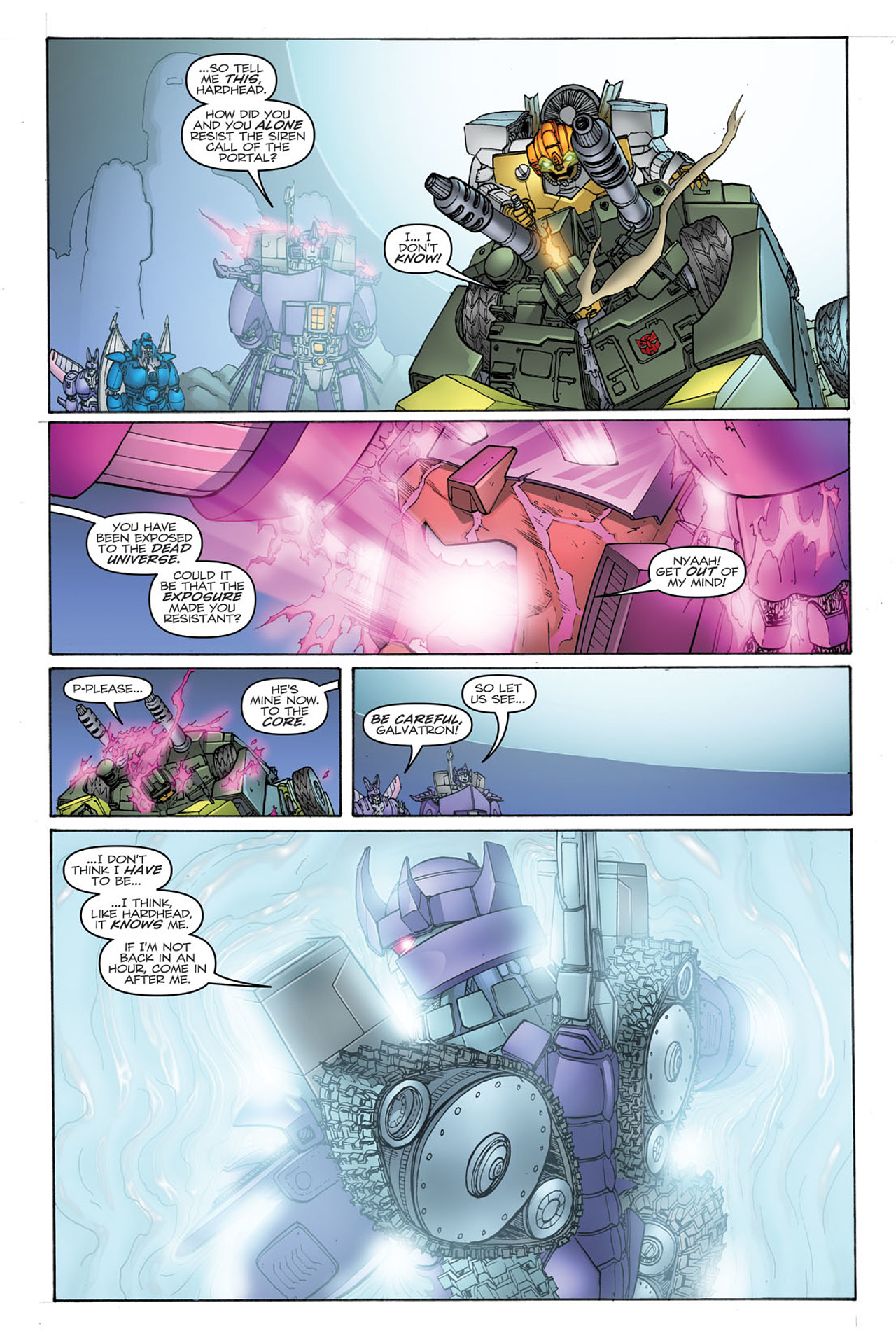 Read online Transformers: Heart of Darkness comic -  Issue #2 - 16