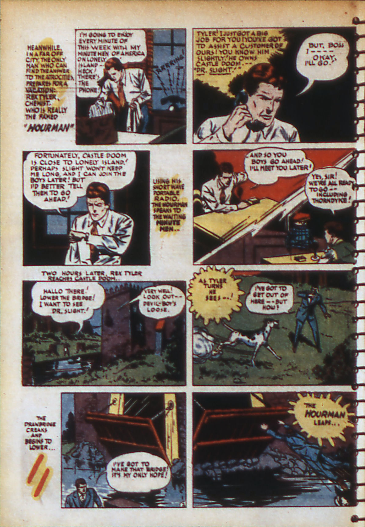 Read online Adventure Comics (1938) comic -  Issue #56 - 5