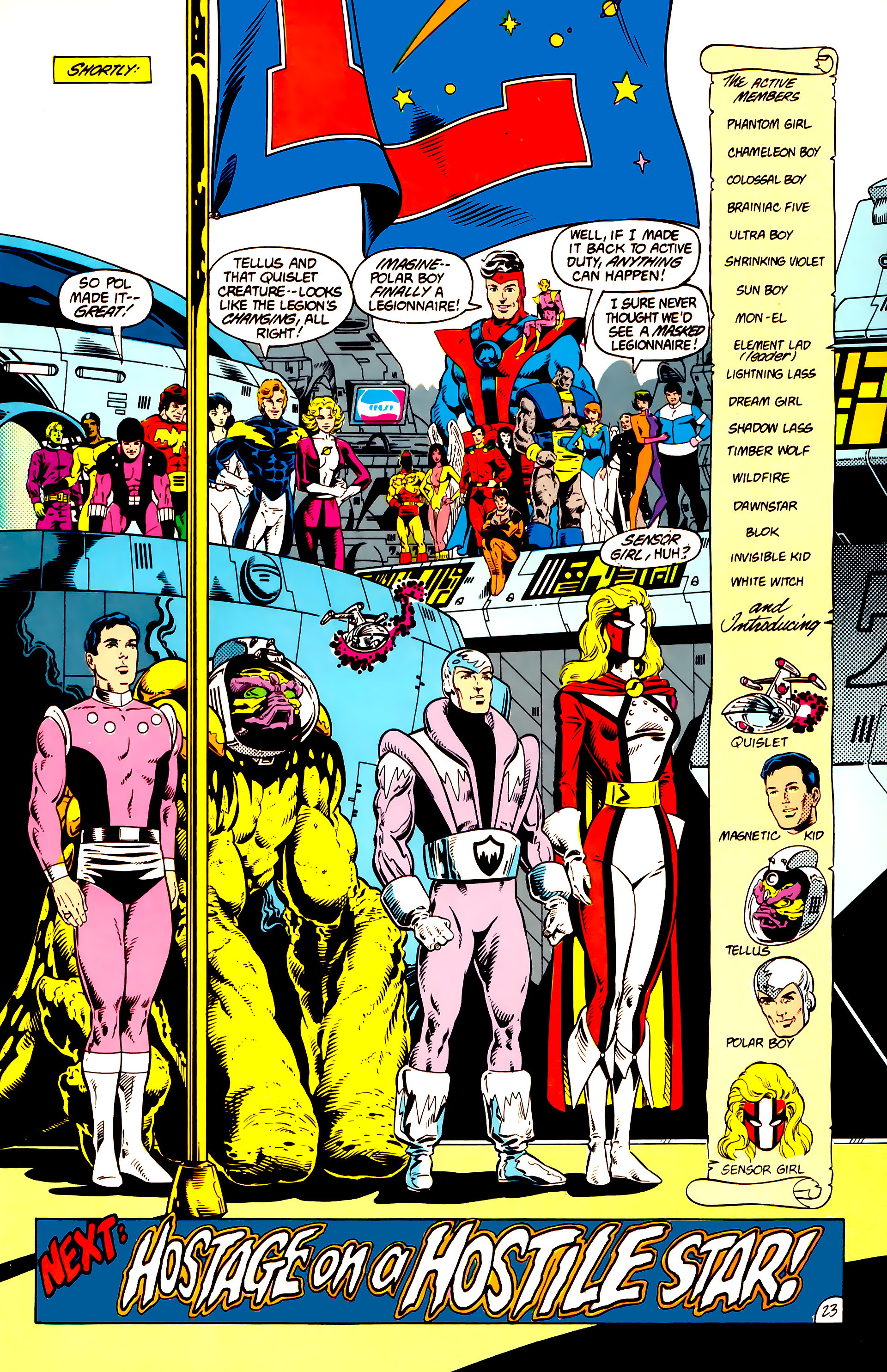Legion of Super-Heroes (1984) 14 Page 23