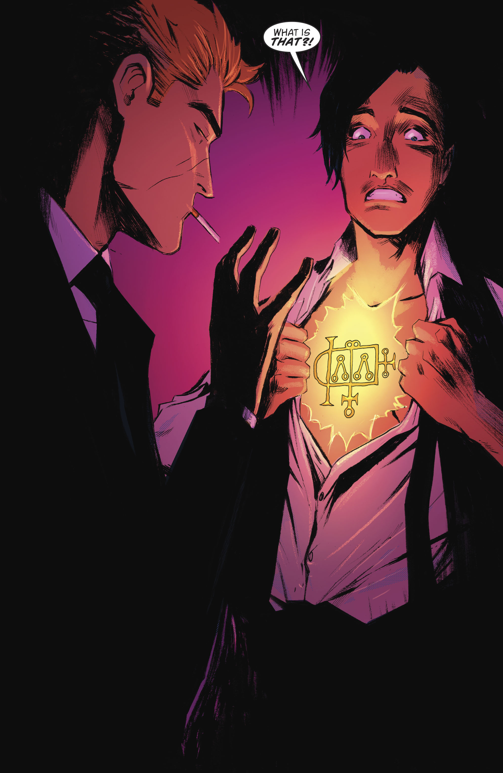 Read online Lucifer (2016) comic -  Issue #18 - 19