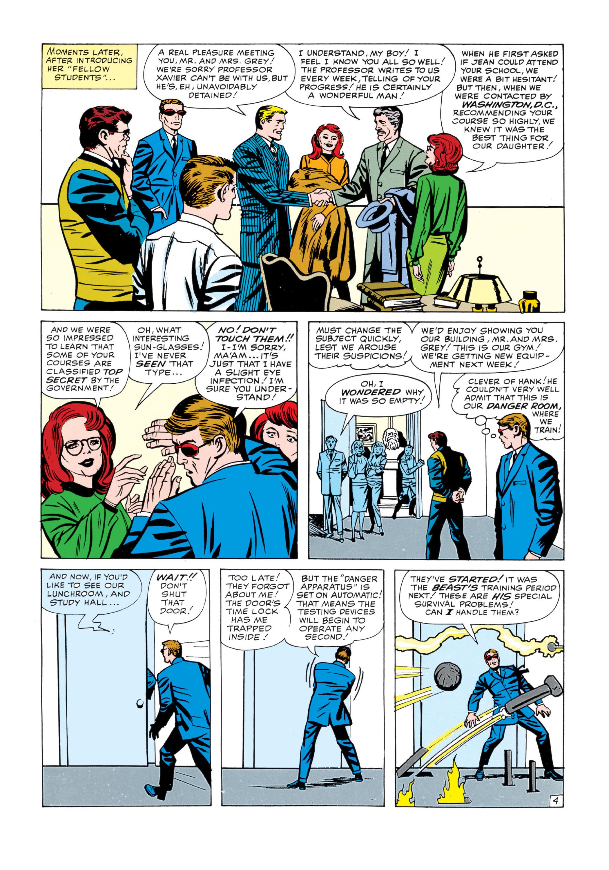 Read online Uncanny X-Men (1963) comic -  Issue #5 - 5