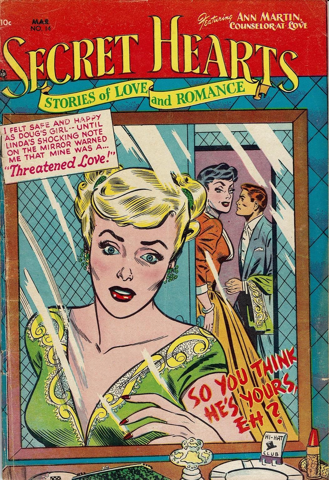 Read online Secret Hearts comic -  Issue #14 - 1