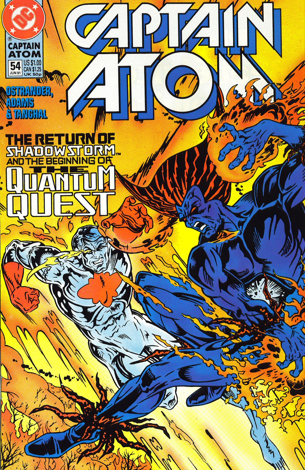 Captain Atom (1987) 54 Page 1