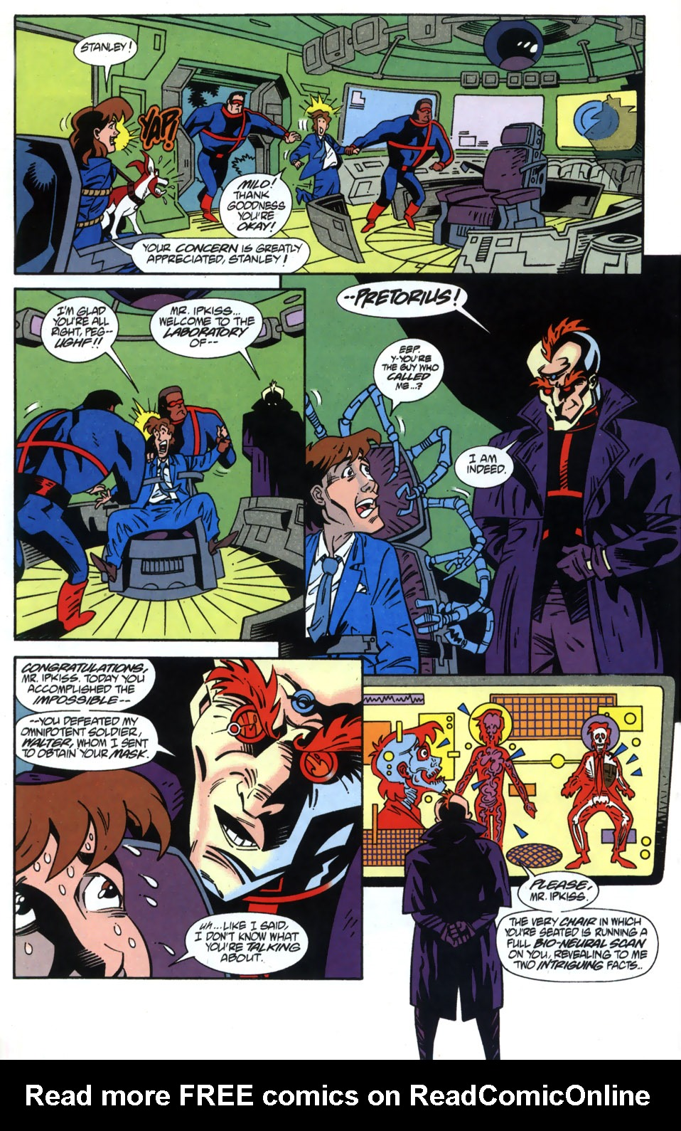 Read online Adventures Of The Mask comic -  Issue #2 - 14