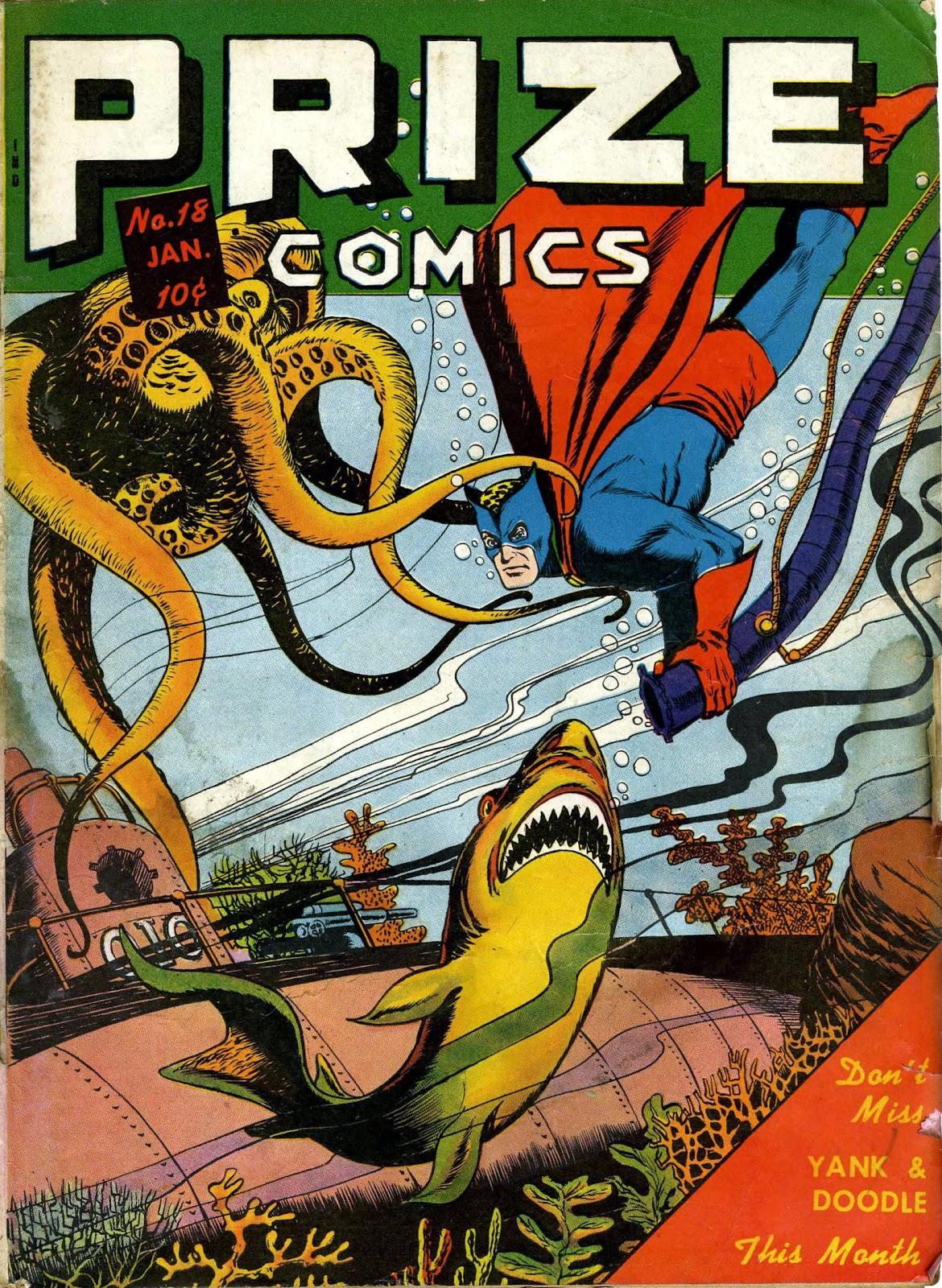 Prize Comics 18 Page 1