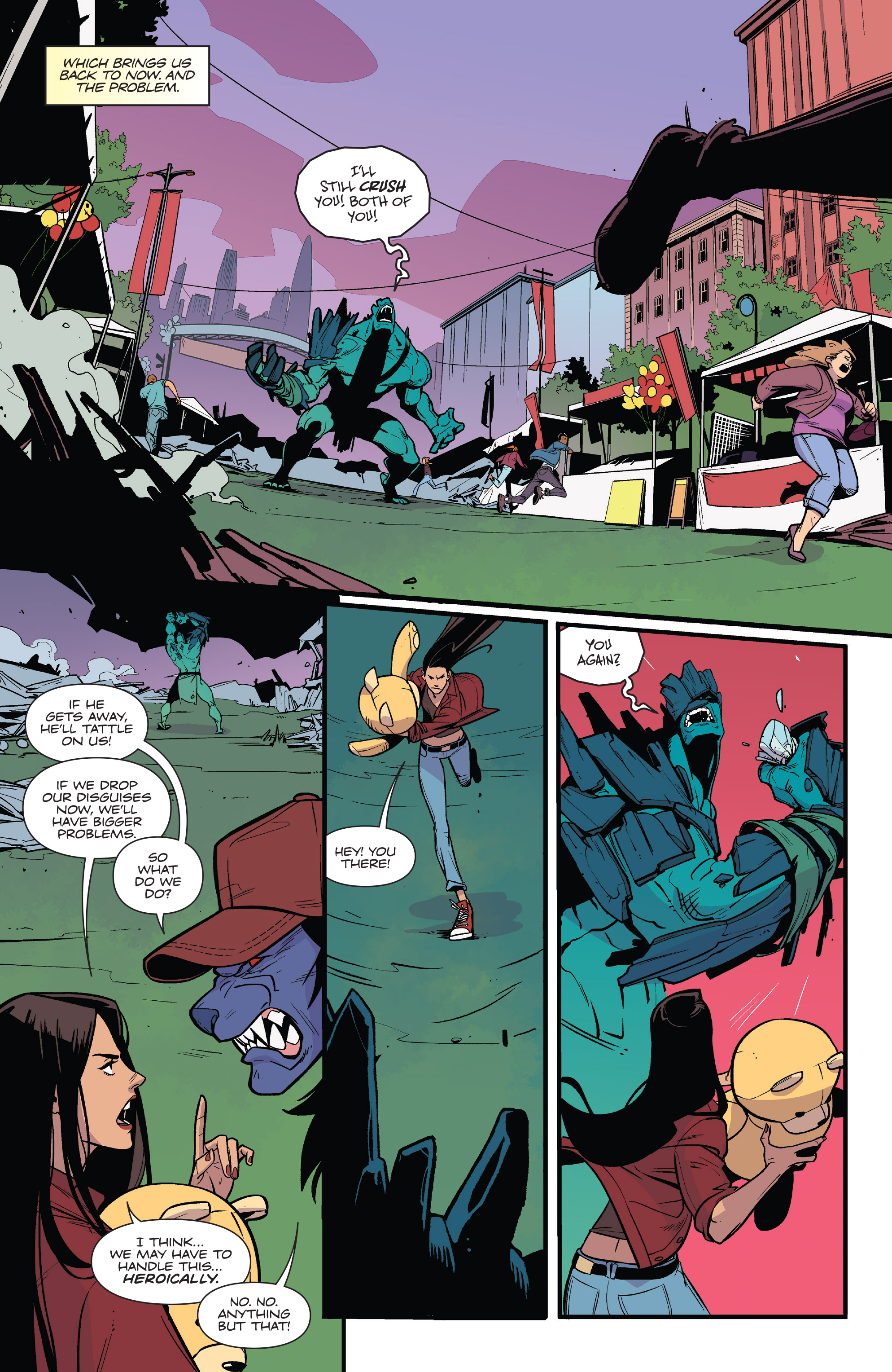 Read online Mighty Morphin Power Rangers comic -  Issue # _Annual 2017 - 41