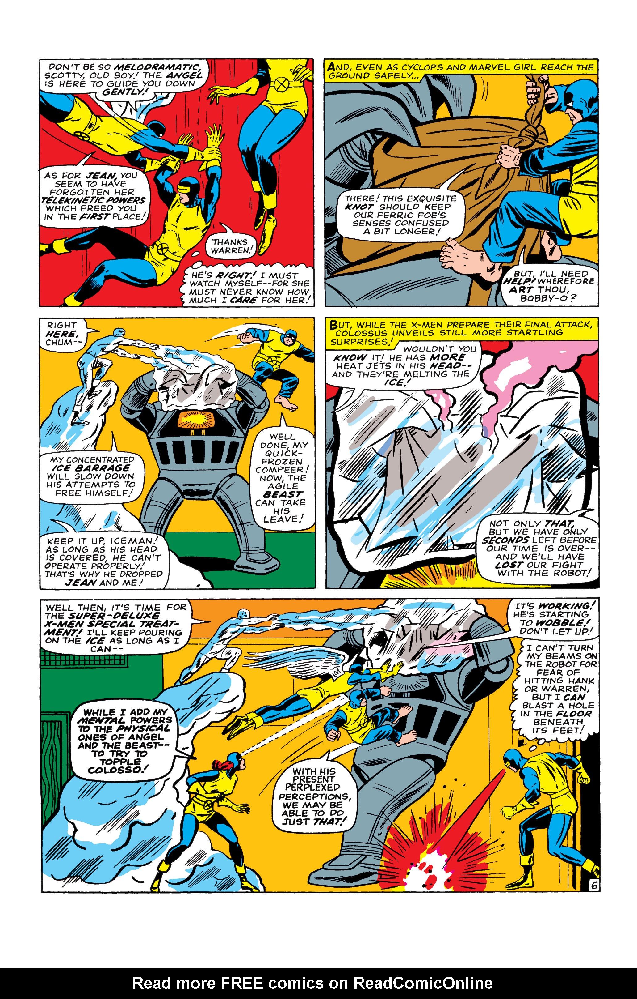 Read online Uncanny X-Men (1963) comic -  Issue #22 - 7