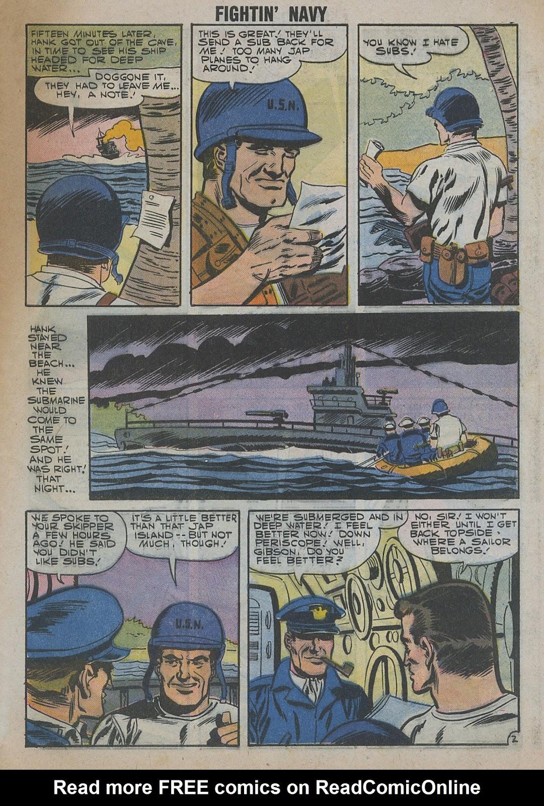 Read online Fightin' Navy comic -  Issue #82 - 55