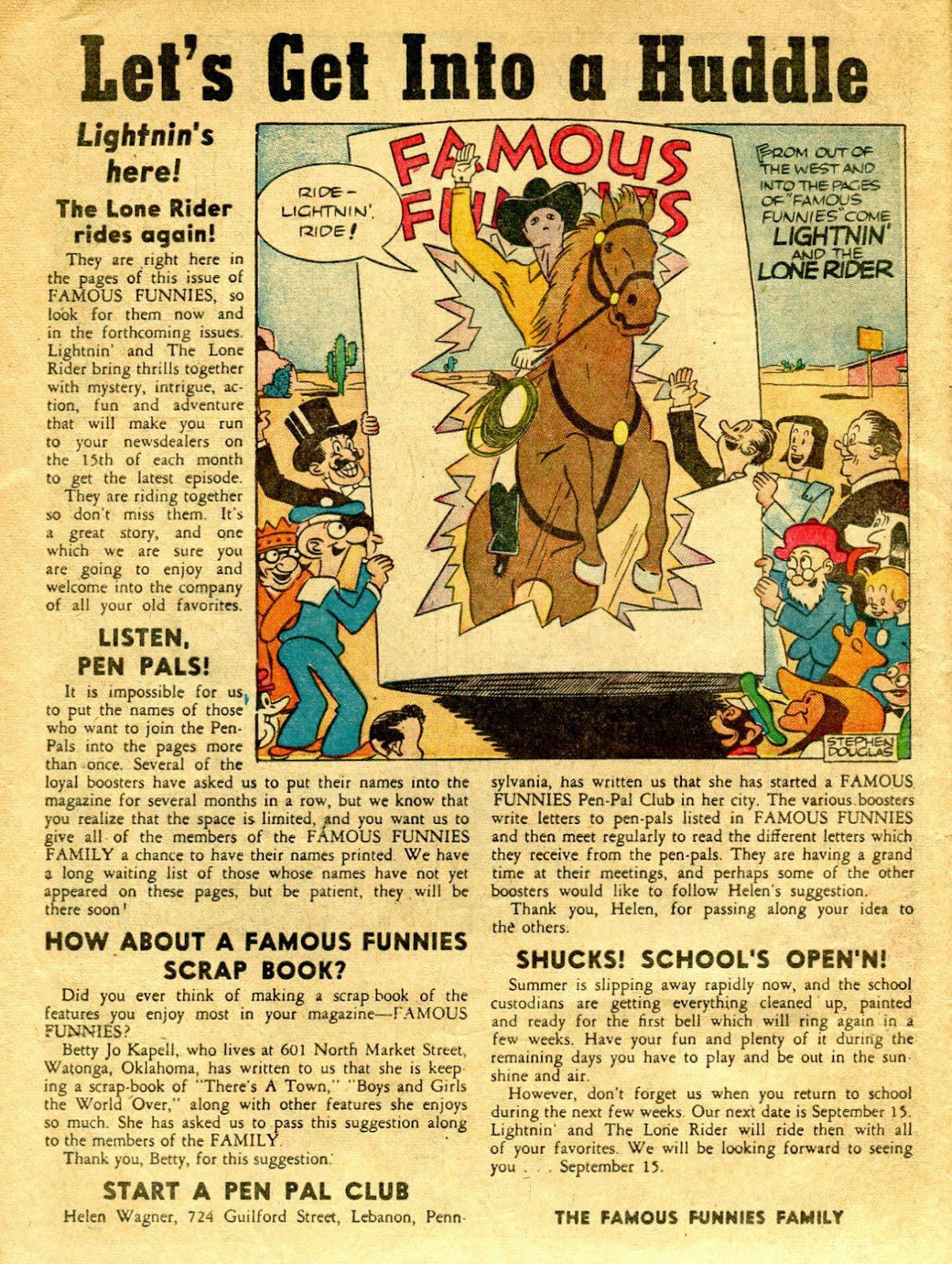 Read online Famous Funnies comic -  Issue #62 - 11