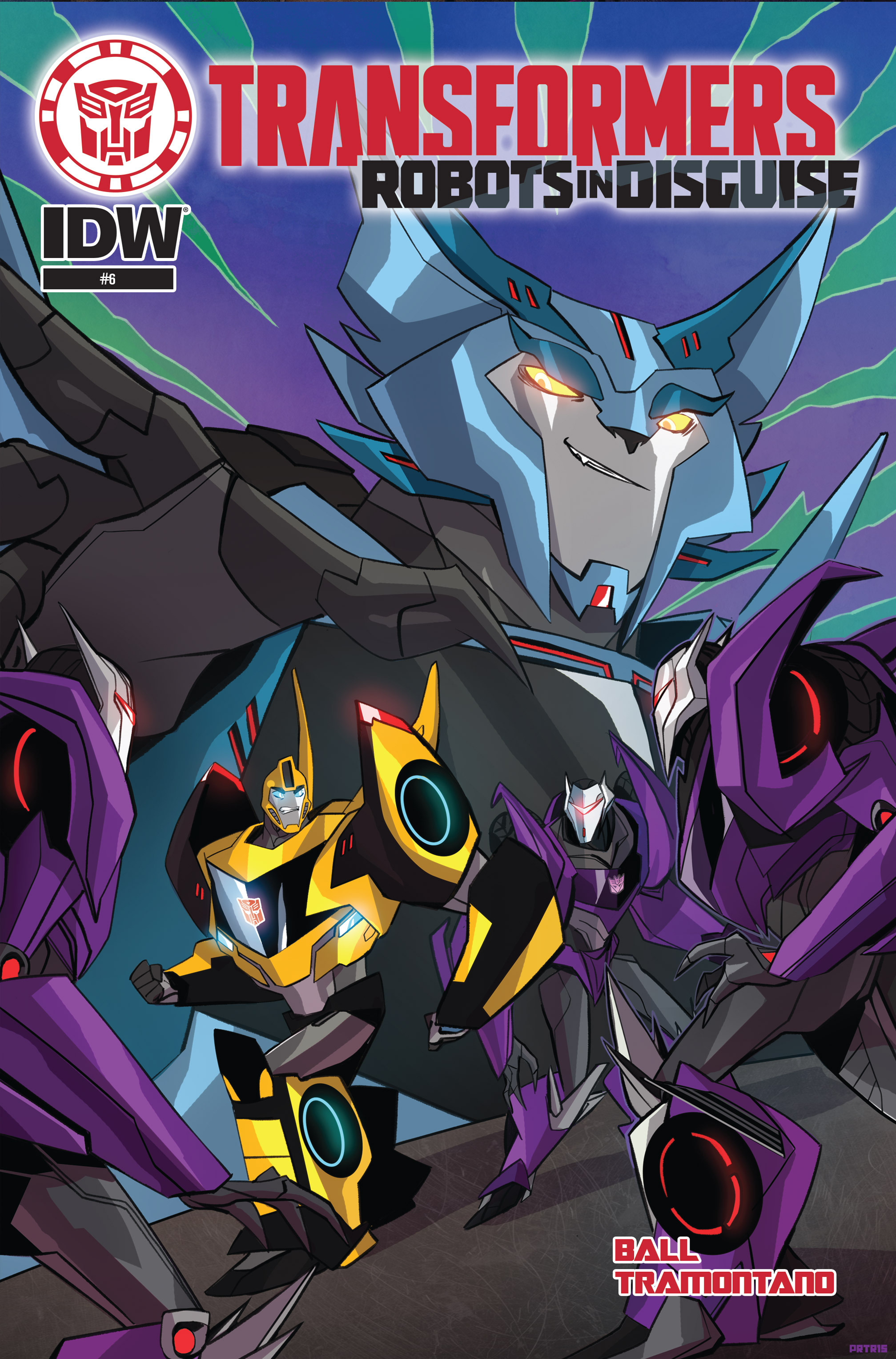 Read online Transformers: Robots In Disguise (2015) comic -  Issue #6 - 1