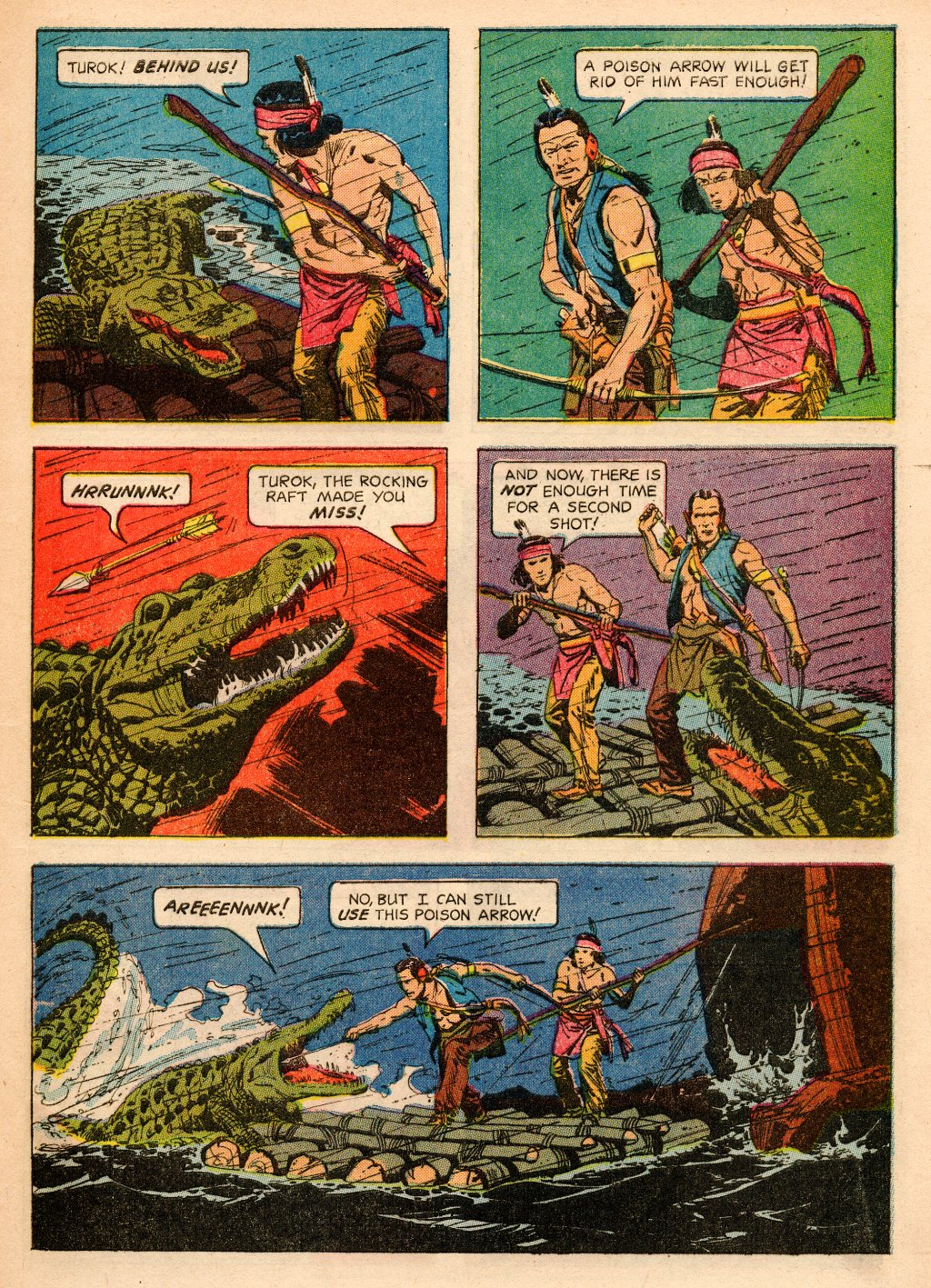 Read online Turok, Son of Stone comic -  Issue #33 - 5