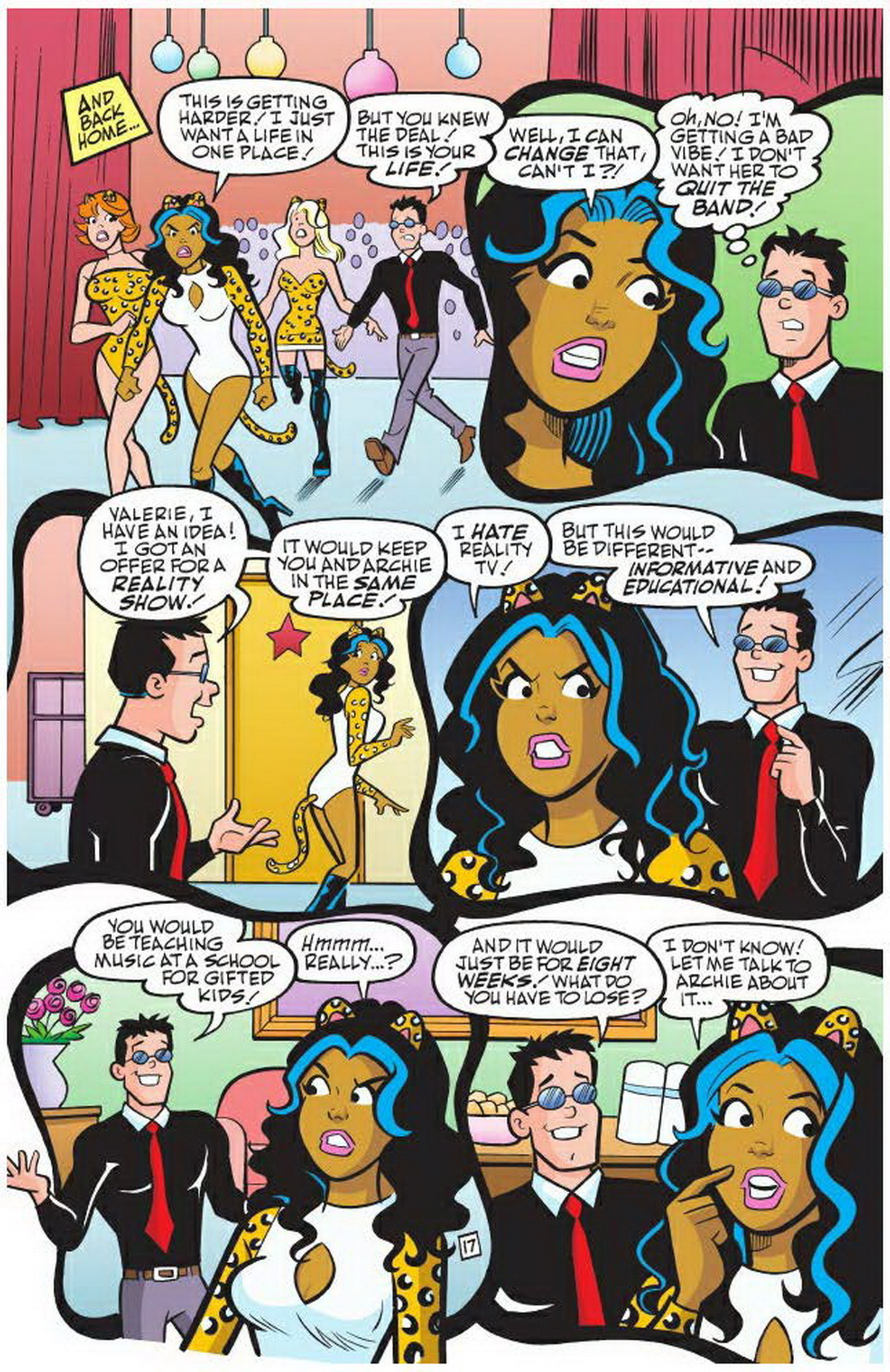 Read online Archie: A Rock 'n' Roll Romance comic -  Issue #Archie: A Rock 'n' Roll Romance Full - 49