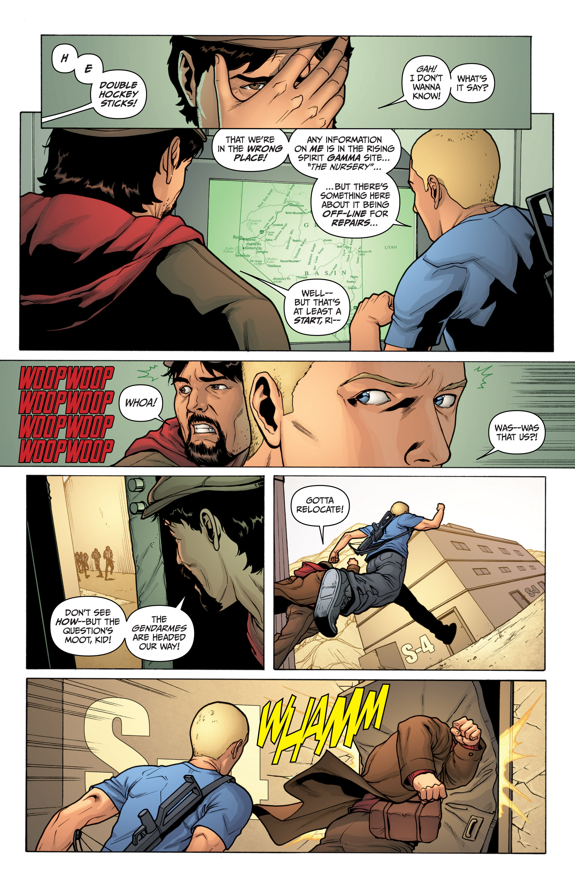 Read online Archer and Armstrong comic -  Issue #10 - 17