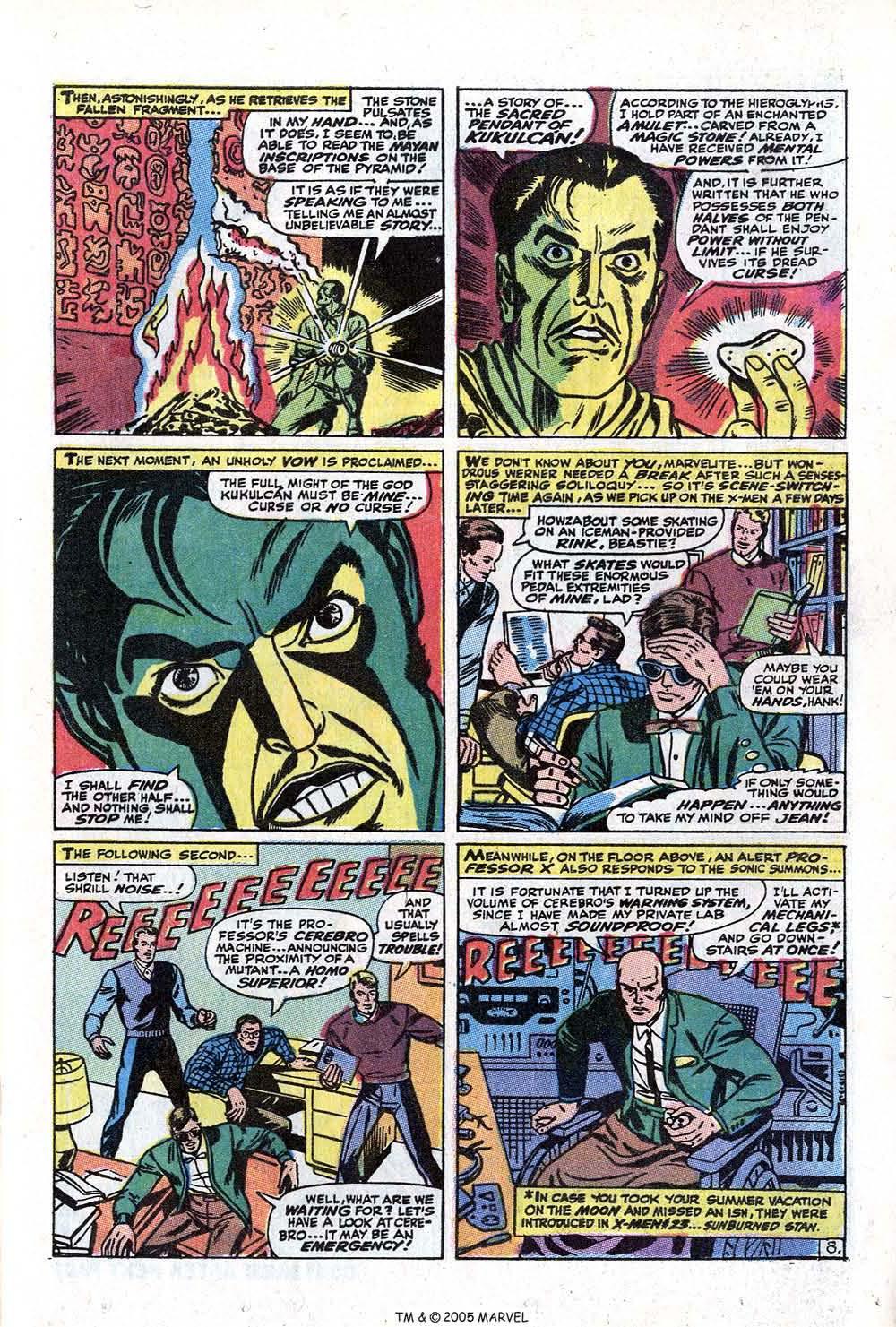 Read online Uncanny X-Men (1963) comic -  Issue #73 - 13