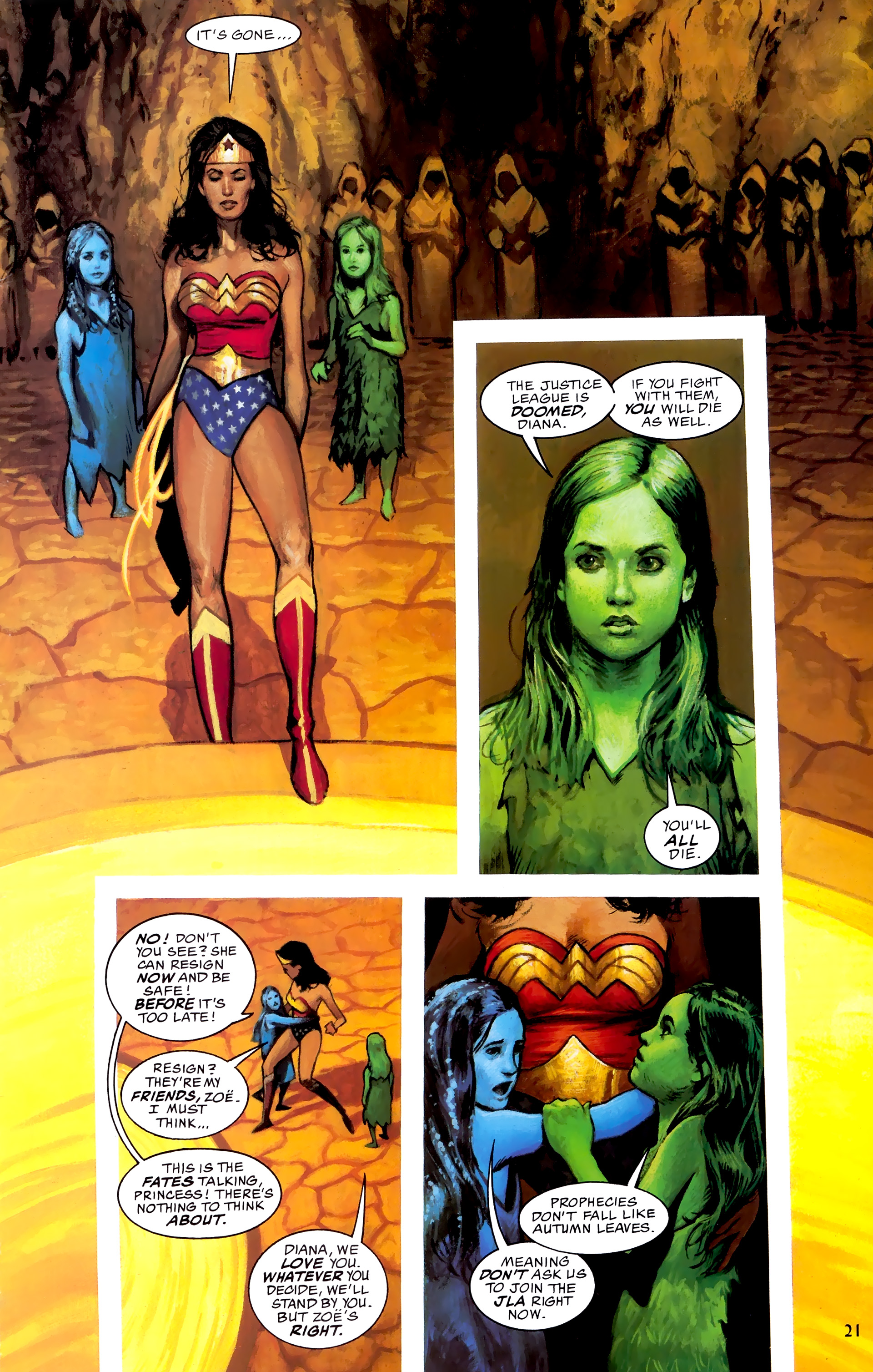 Read online JLA: A League of One comic -  Issue # Full - 28