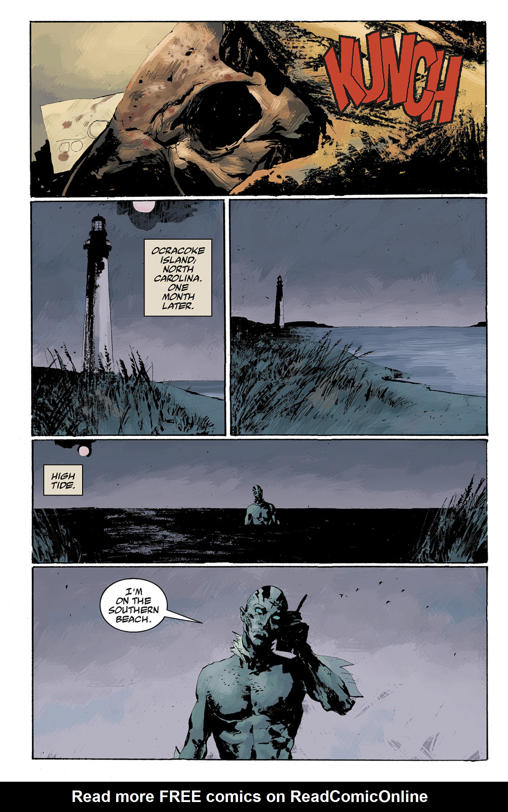 Read online Hellboy: The Crooked Man and Others comic -  Issue # TPB - 88