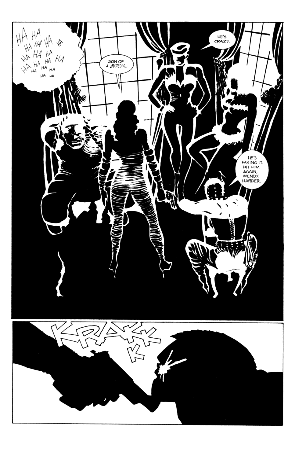 Read online Sin City comic -  Issue #12 - 4