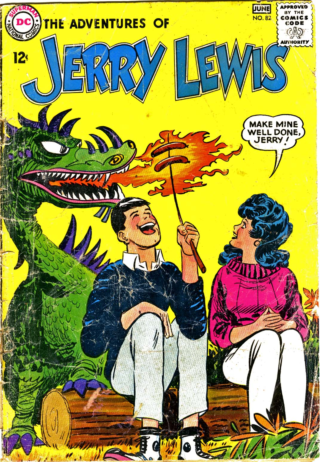The Adventures of Jerry Lewis issue 82 - Page 1