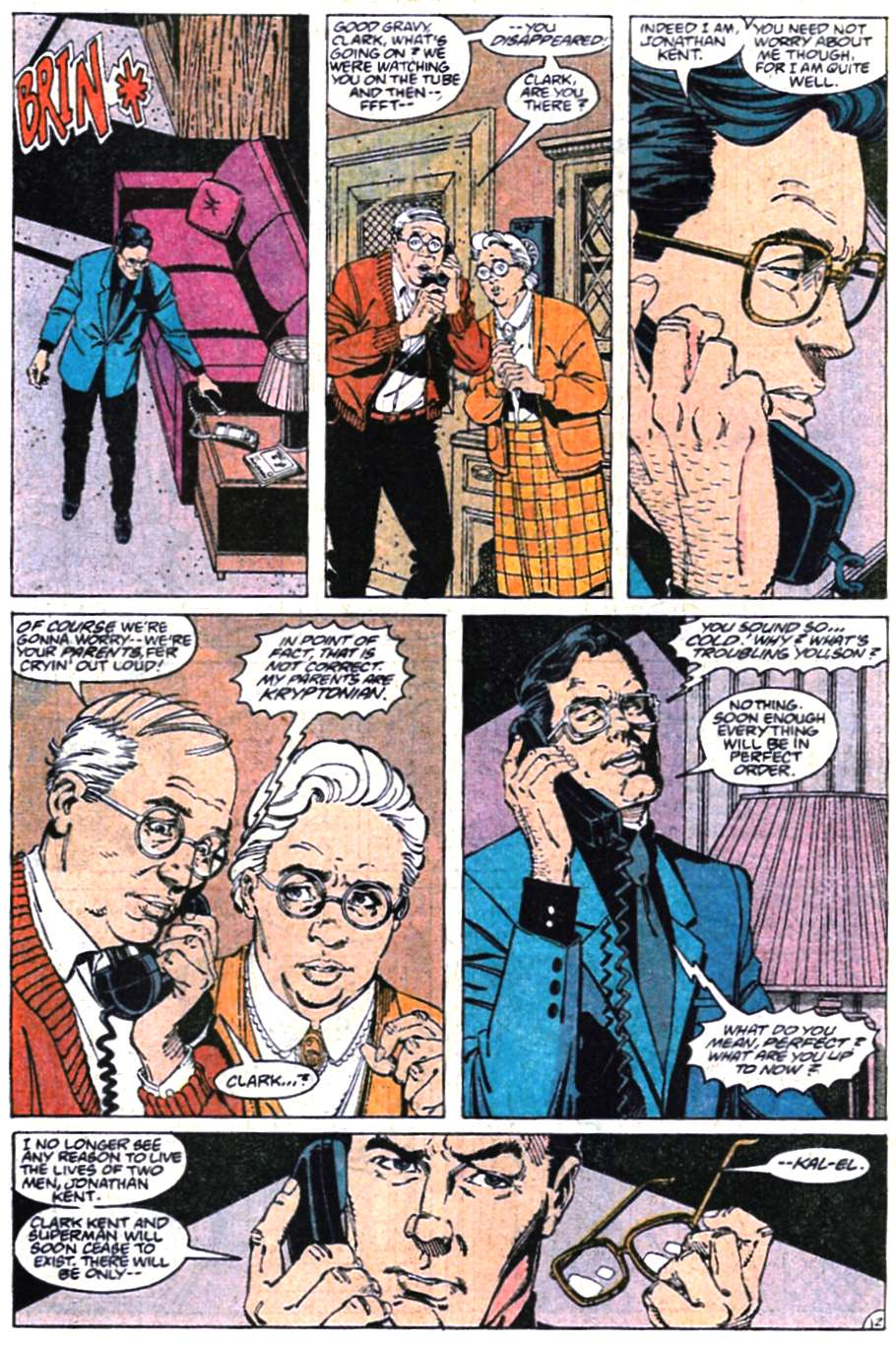 Read online Adventures of Superman (1987) comic -  Issue #465 - 13