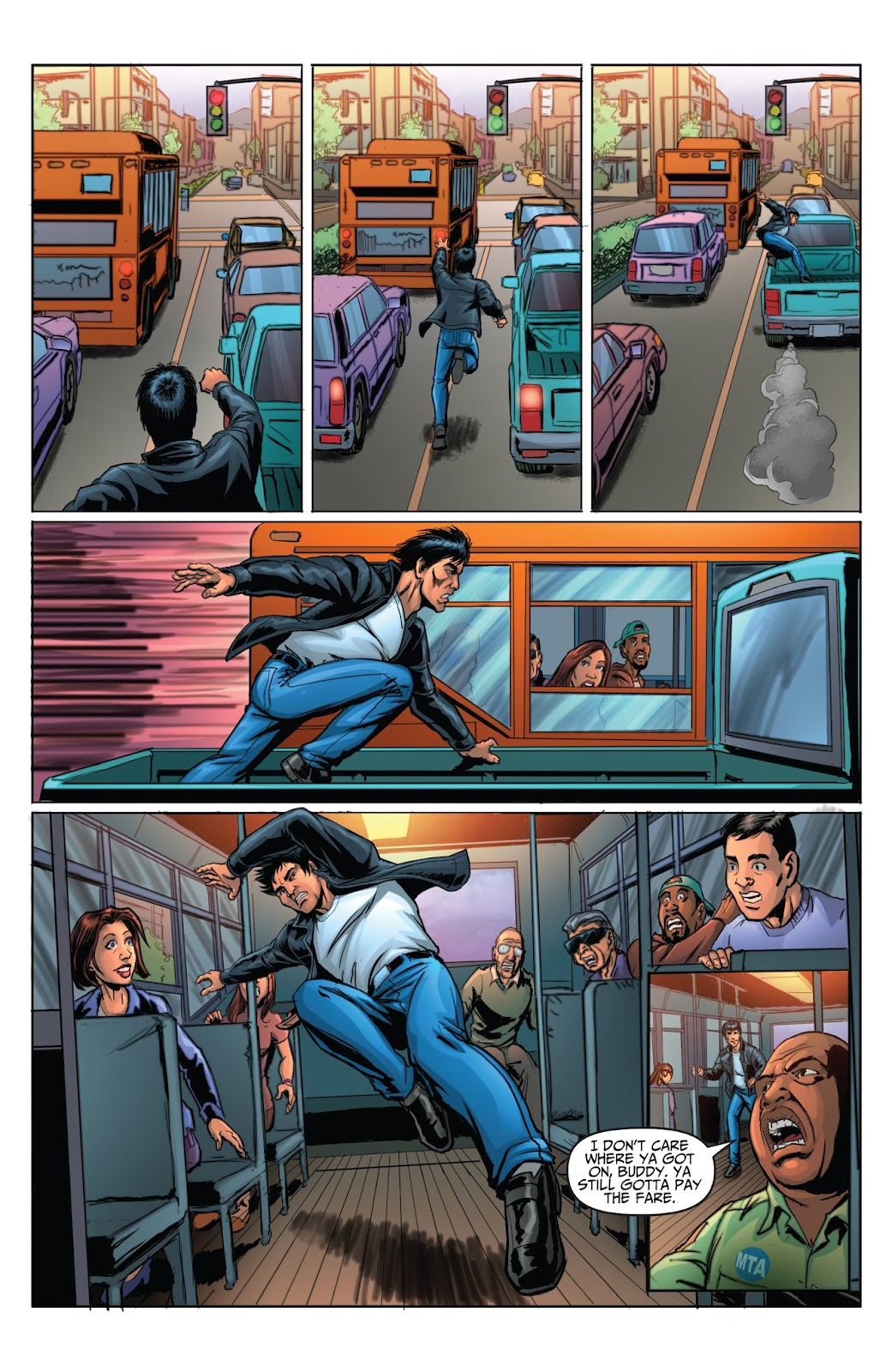 Bruce Lee: Walk of the Dragon issue Full - Page 7