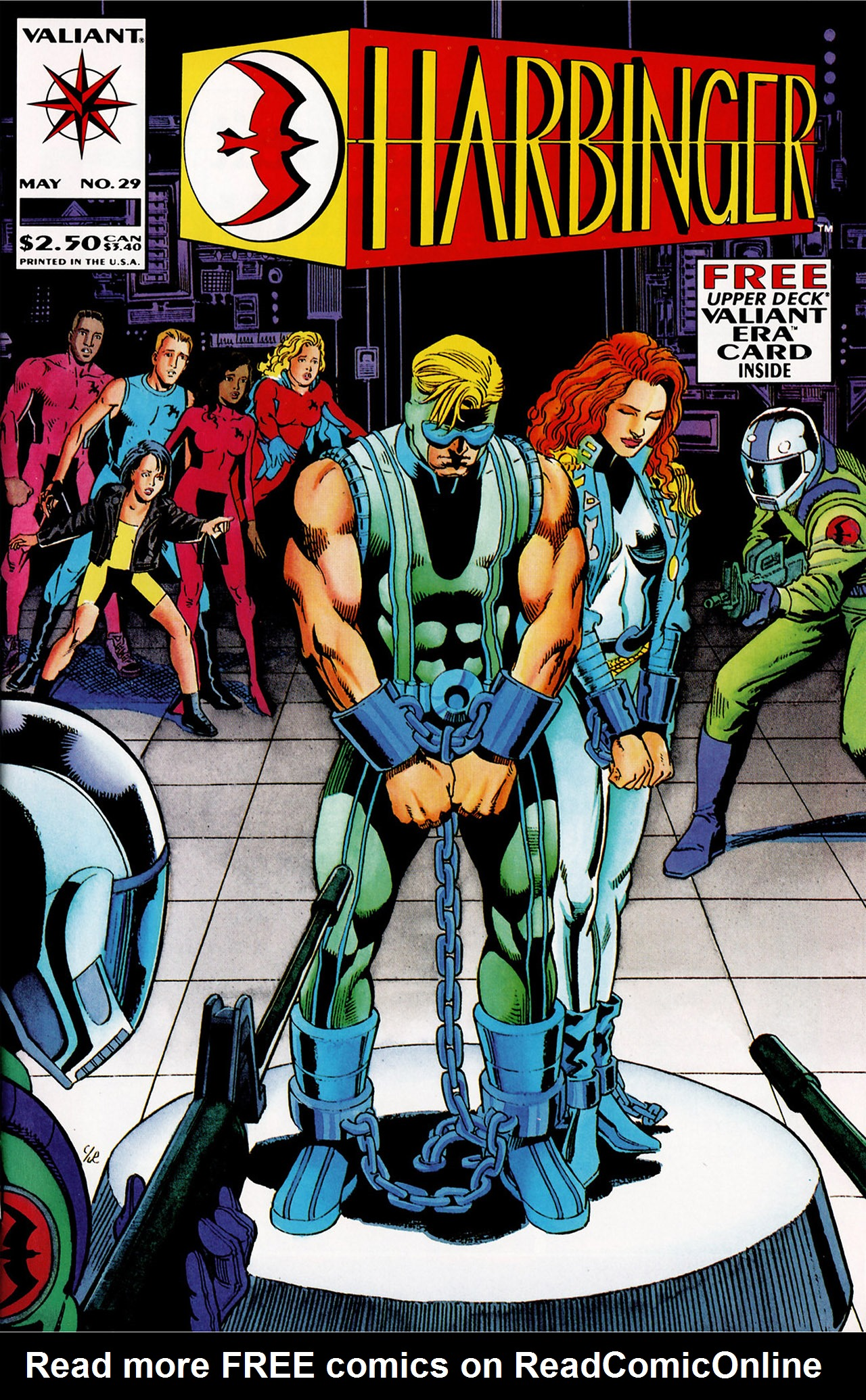 Read online Harbinger (1992) comic -  Issue #29 - 1