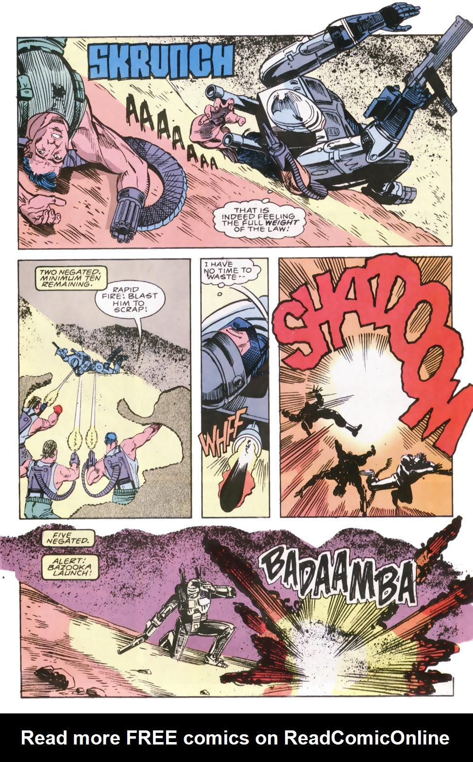 Read online Robocop (1990) comic -  Issue #6 - 13