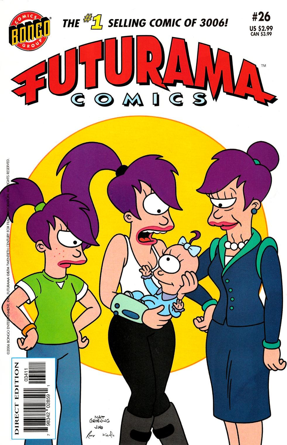 Futurama Comics issue 26 - Page 1