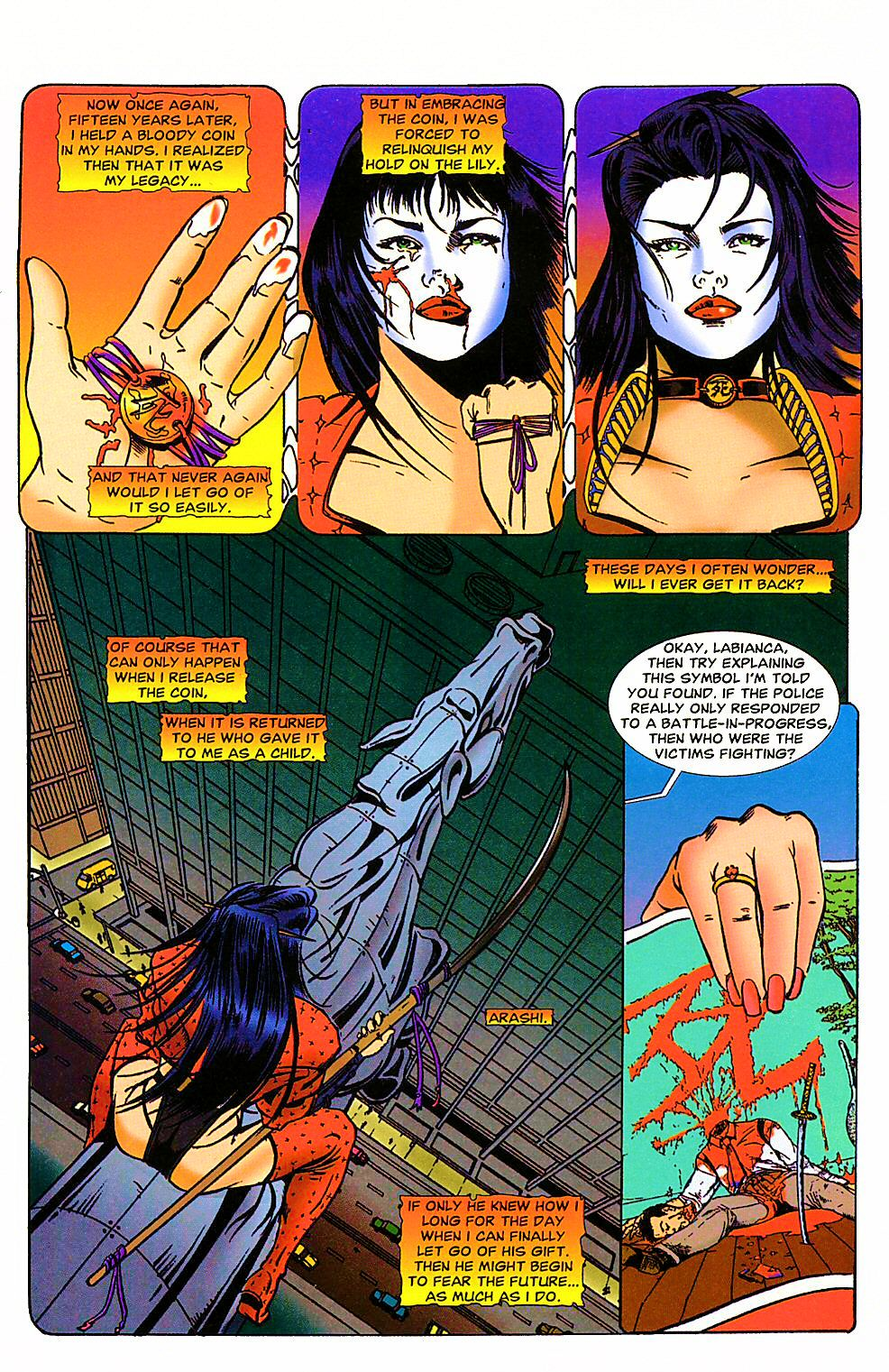 Shi: The Way of the Warrior Issue #4 #4 - English 22