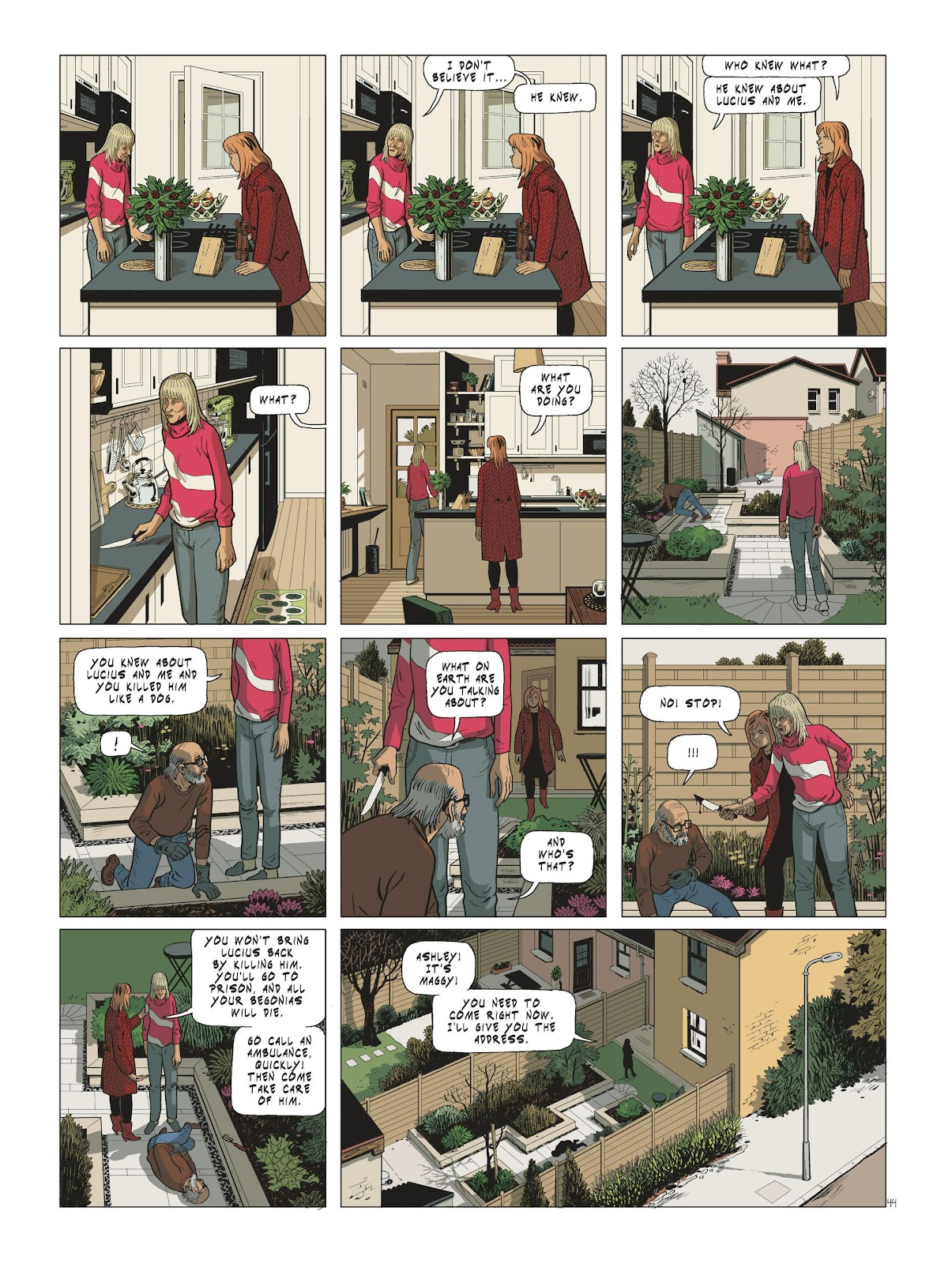 Read online Maggy Garrisson comic -  Issue #3 - 46