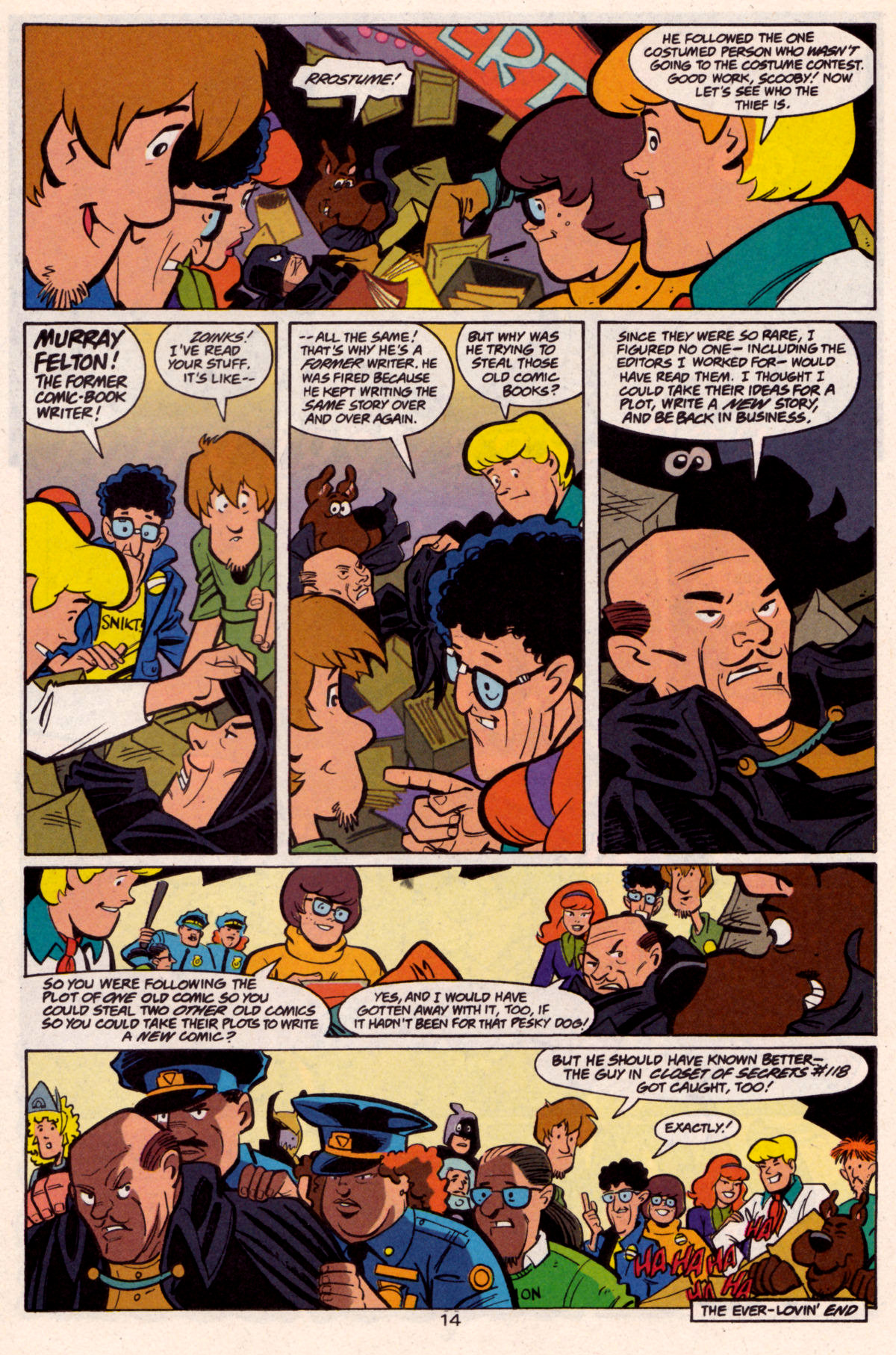 Read online Scooby-Doo (1997) comic -  Issue #12 - 15