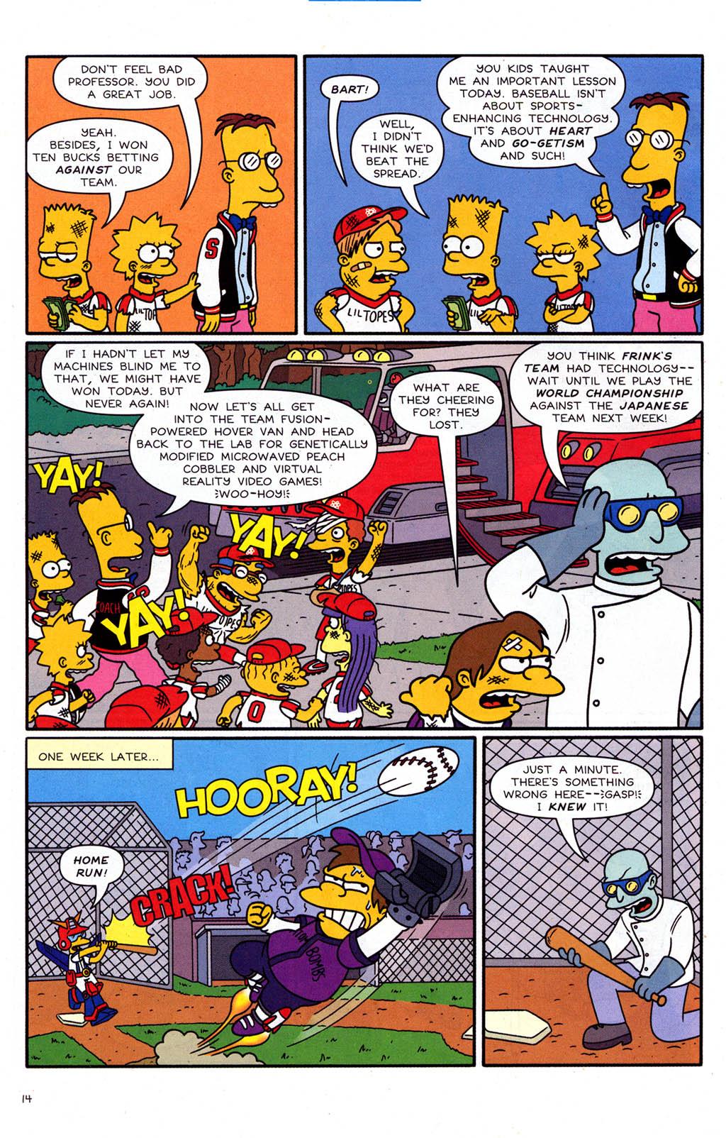 Read online Simpsons Comics Presents Bart Simpson comic -  Issue #21 - 16