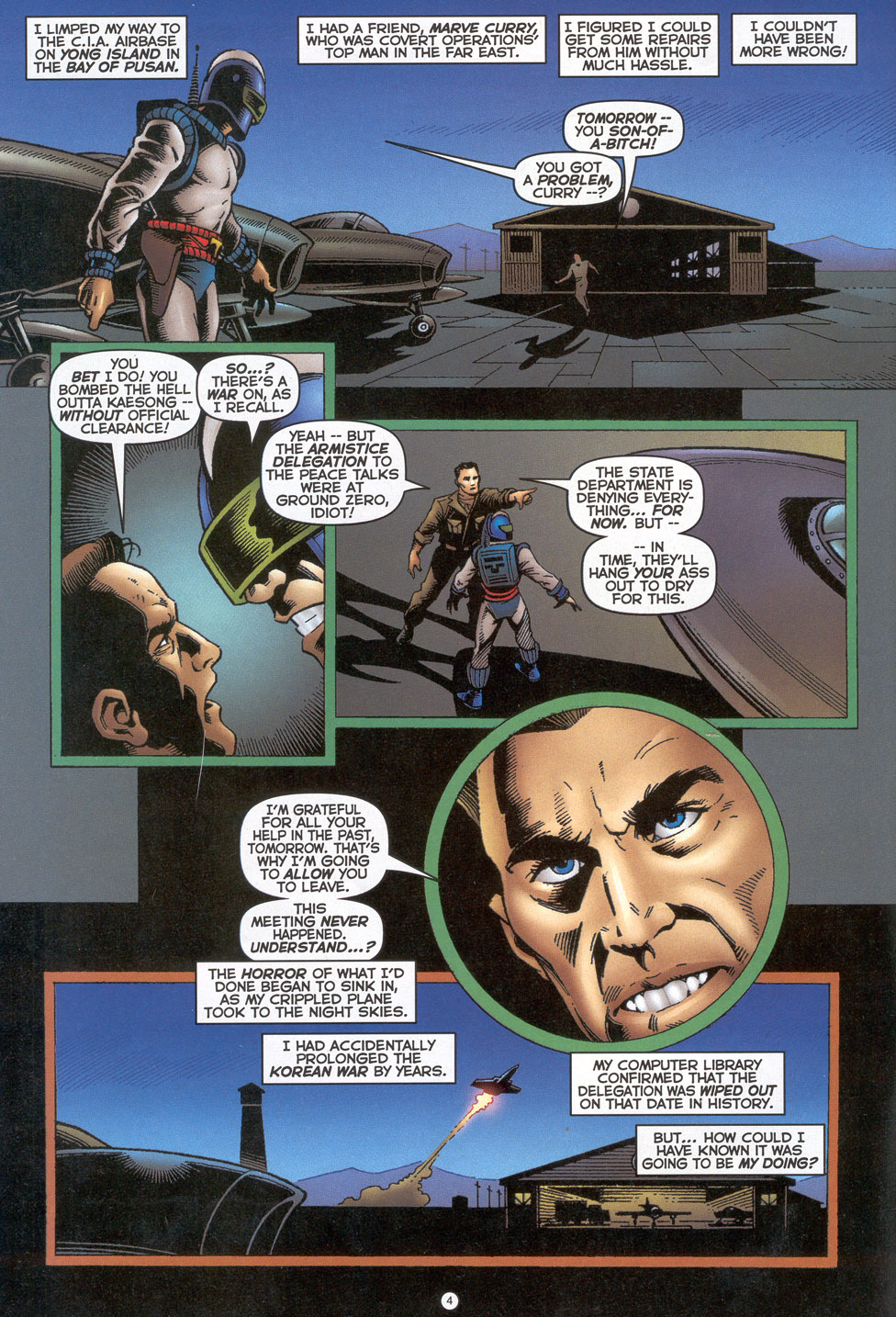 Read online Doctor Tomorrow comic -  Issue #4 - 5