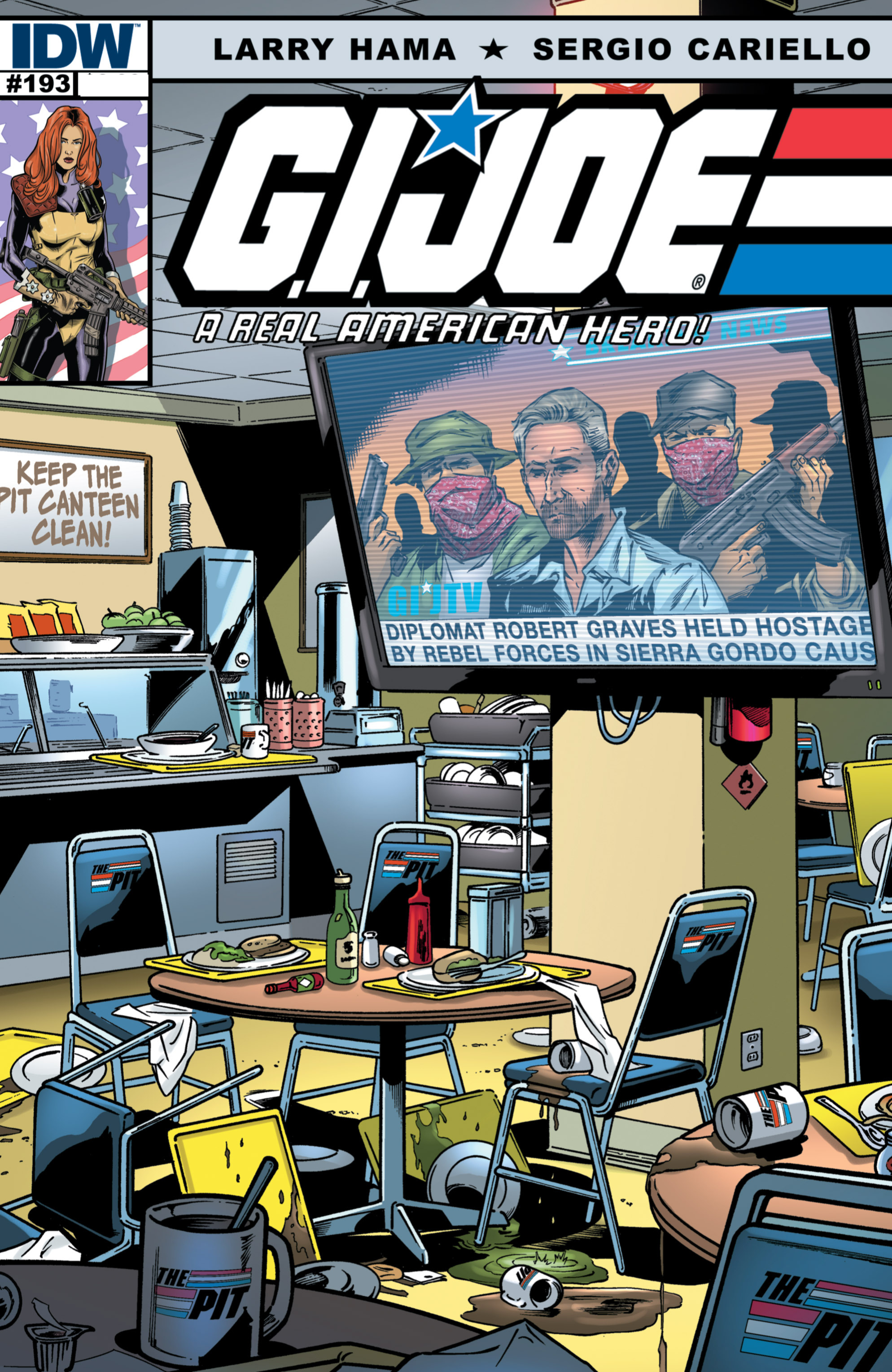 G.I. Joe: A Real American Hero 193 Page 1