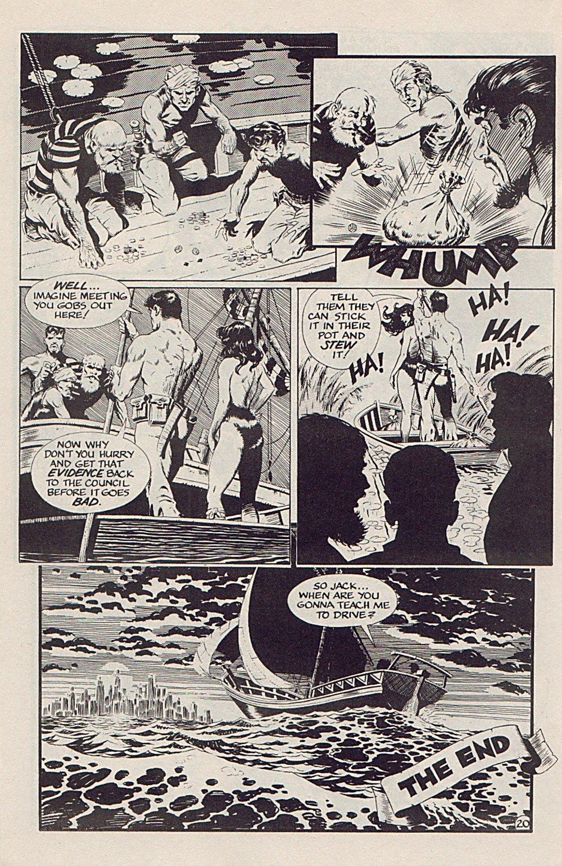 Read online Xenozoic Tales comic -  Issue #5 - 23