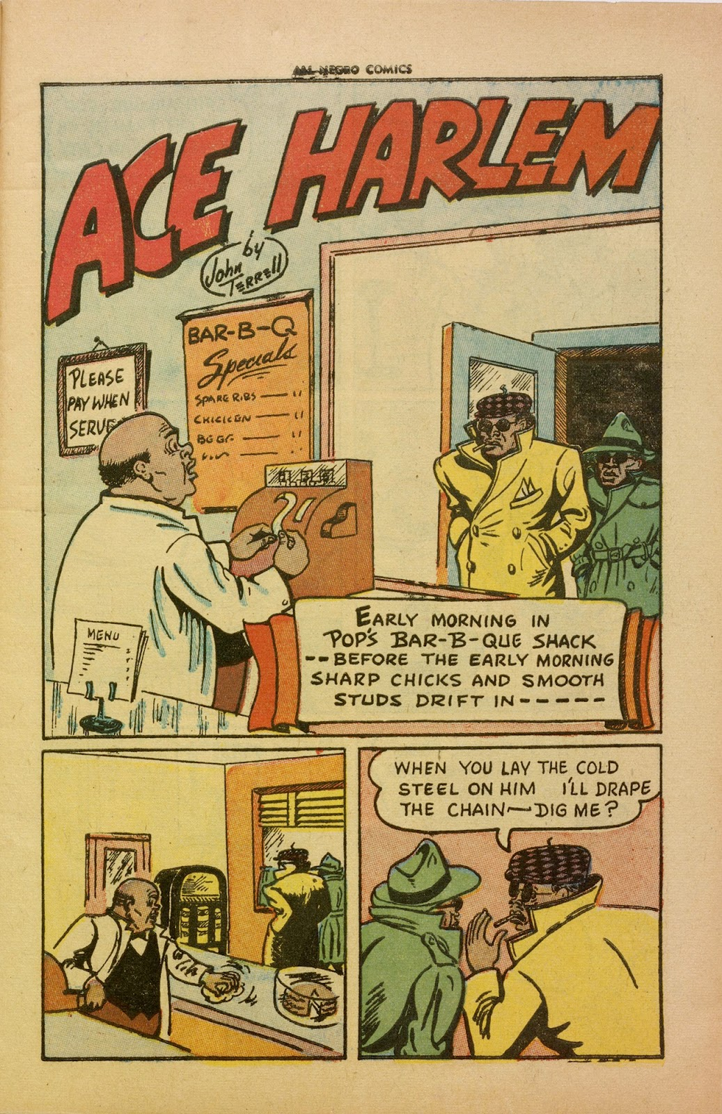 All-Negro Comics issue Full - Page 3
