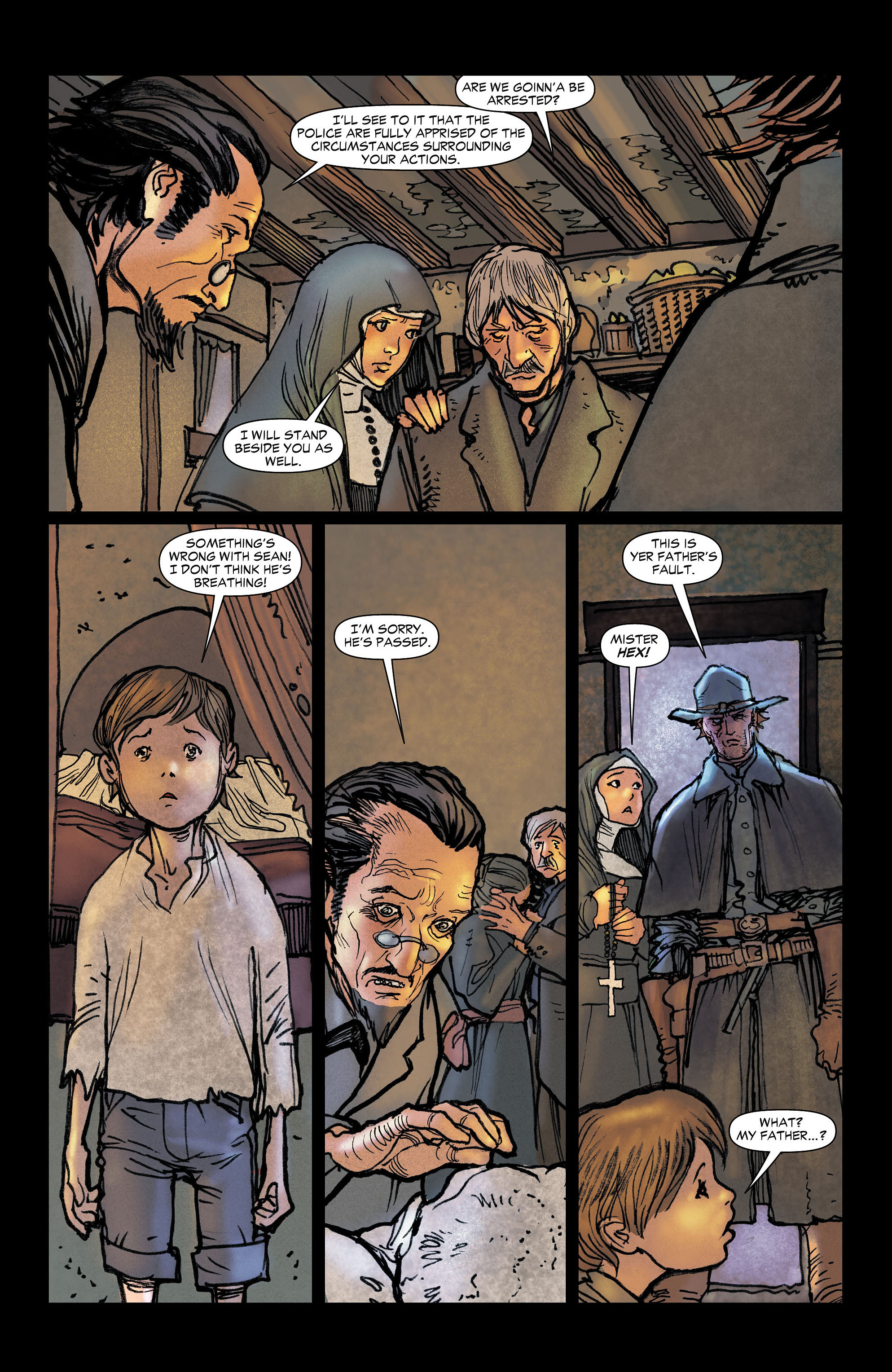 Read online All-Star Western (2011) comic -  Issue #6 - 16