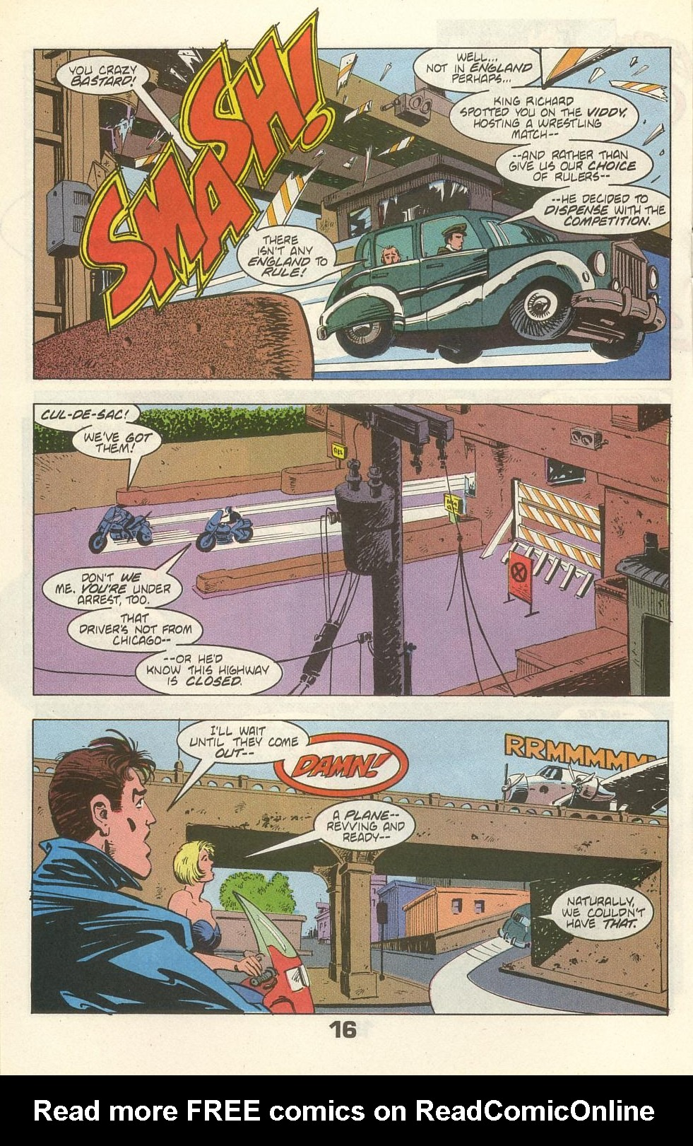 Read online American Flagg! comic -  Issue #35 - 20