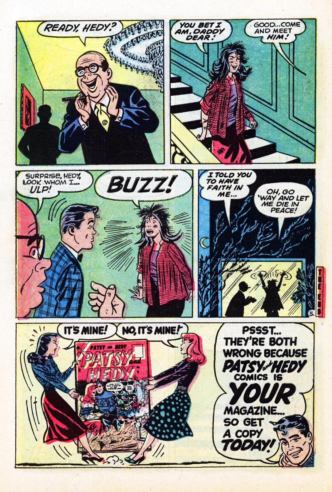 Read online Patsy Walker comic -  Issue #58 - 14
