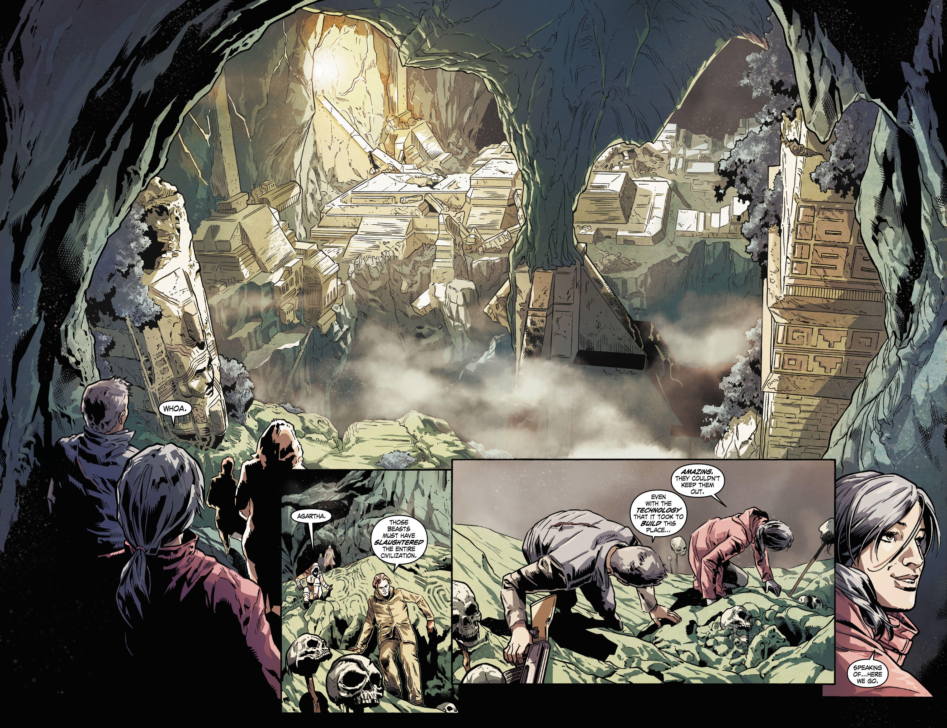 Read online Uncharted comic -  Issue #5 - 10