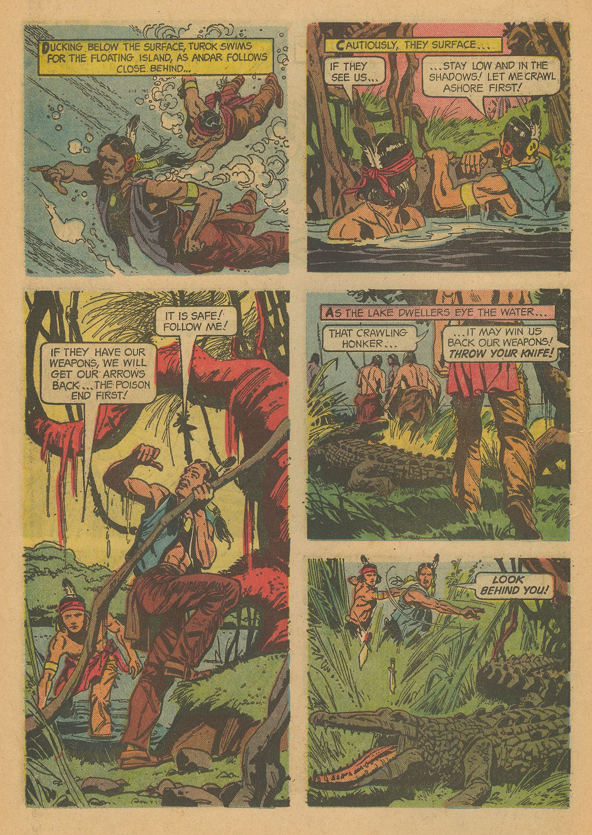 Read online Turok, Son of Stone comic -  Issue #43 - 10