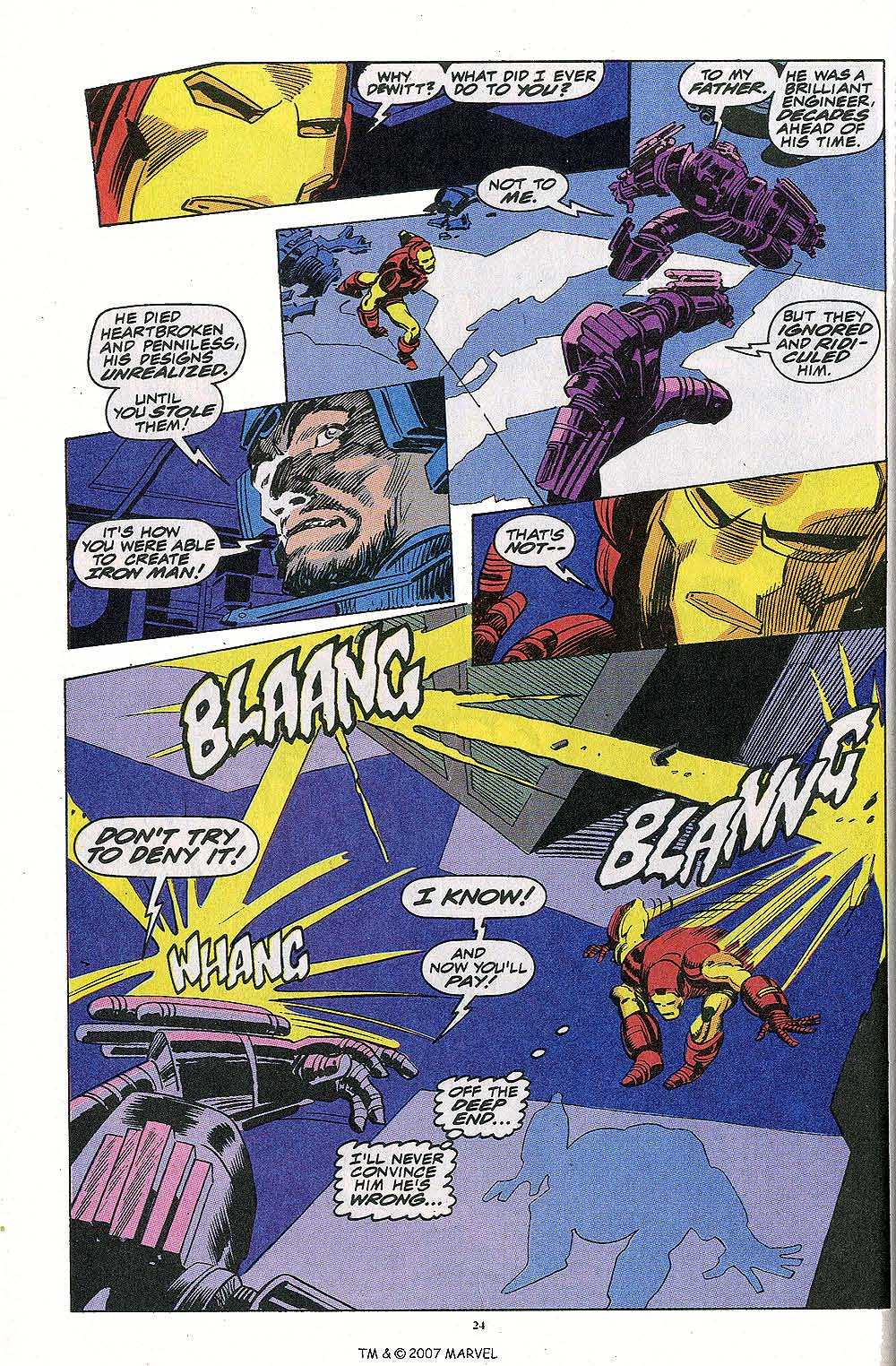 Iron Man Annual issue 13 - Page 26