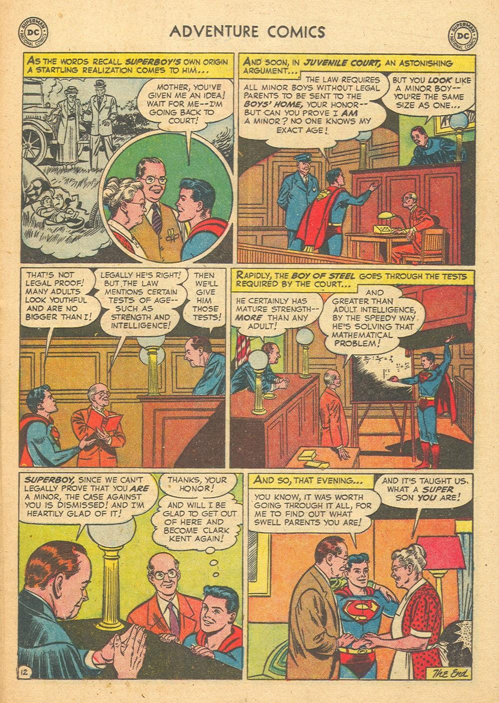 Read online Adventure Comics (1938) comic -  Issue #176 - 14