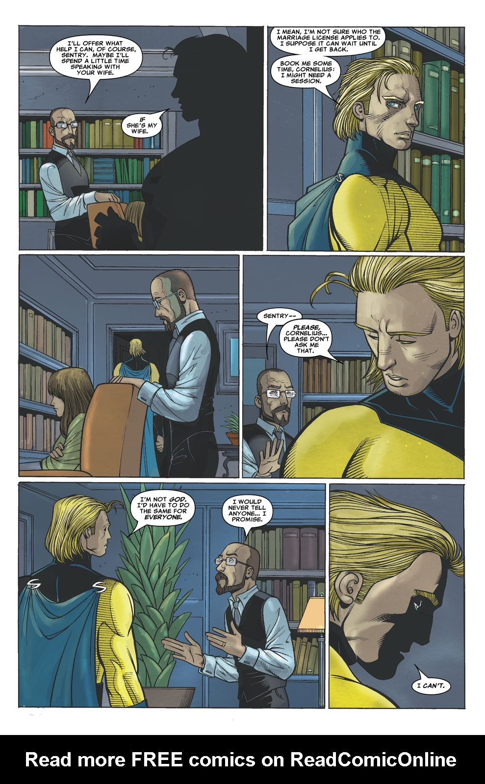 Read online Sentry (2006) comic -  Issue #6 - 18