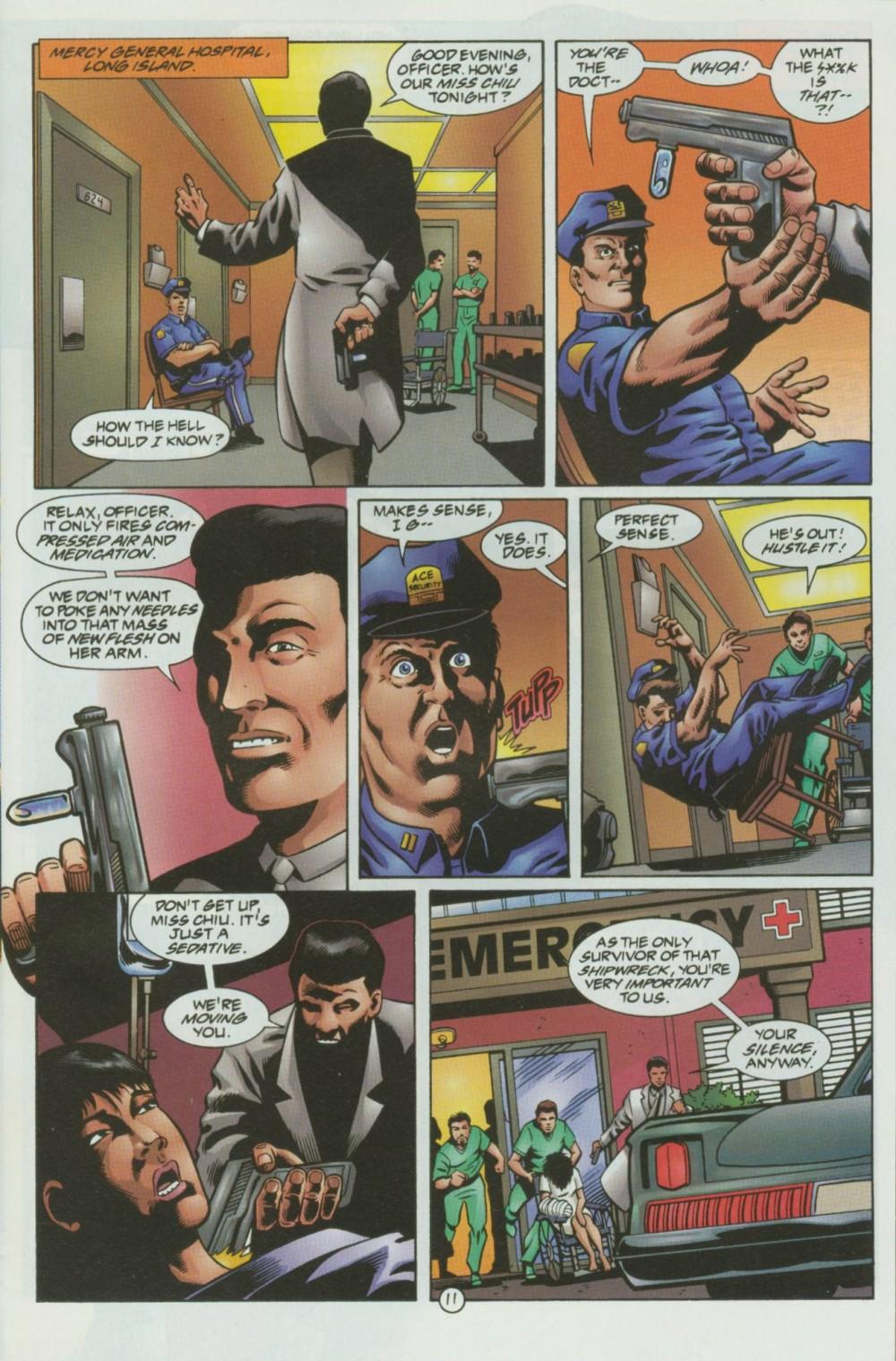 Read online Sludge comic -  Issue #8 - 12