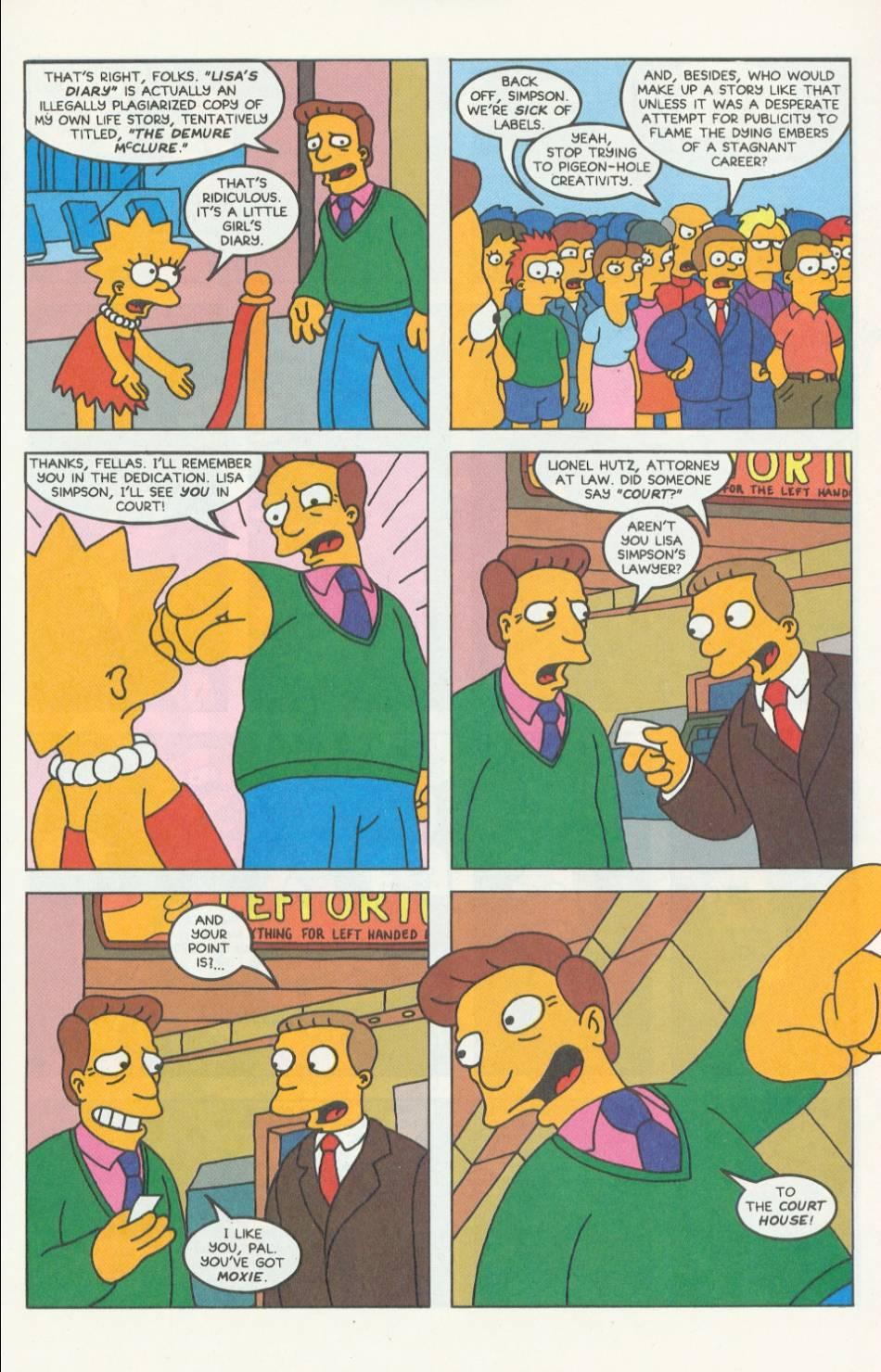 Read online Simpsons Comics comic -  Issue #9 - 18