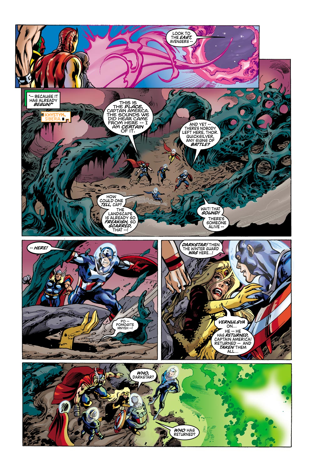 Read online Avengers (1998) comic -  Issue #42 - 19