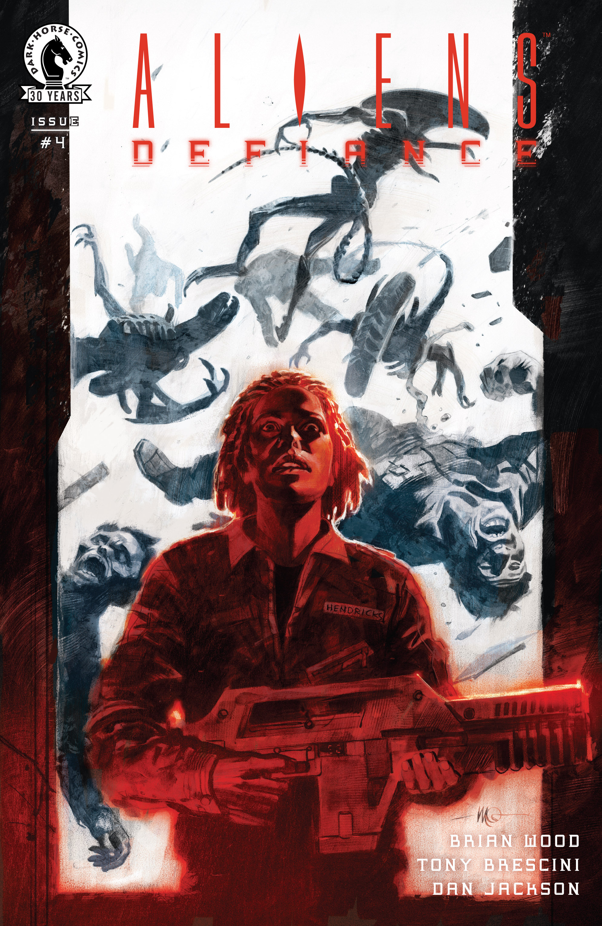 Read online Aliens: Defiance comic -  Issue #4 - 1