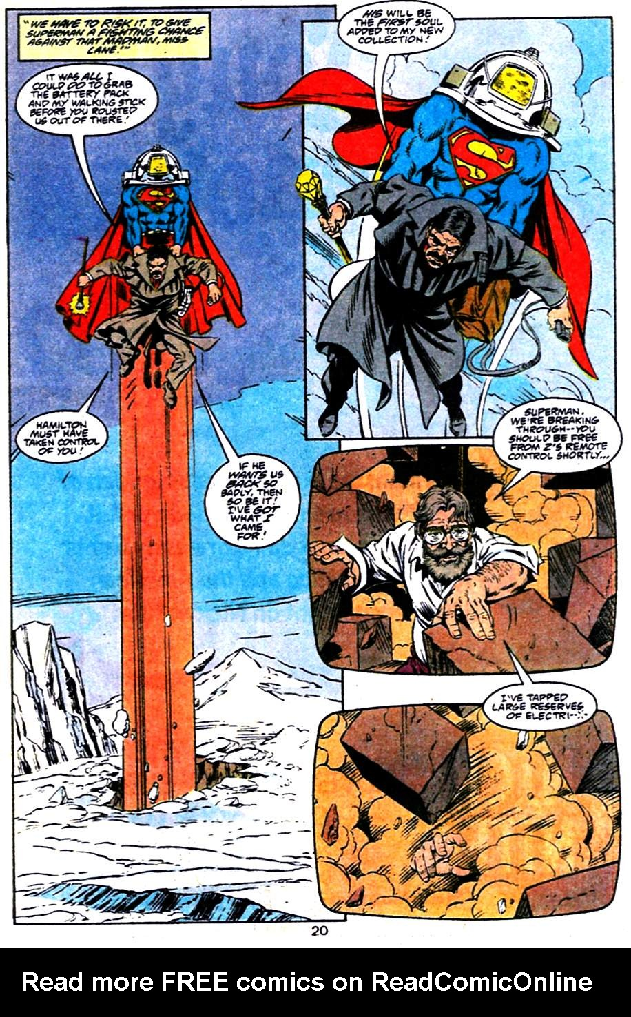 Read online Adventures of Superman (1987) comic -  Issue #484 - 21