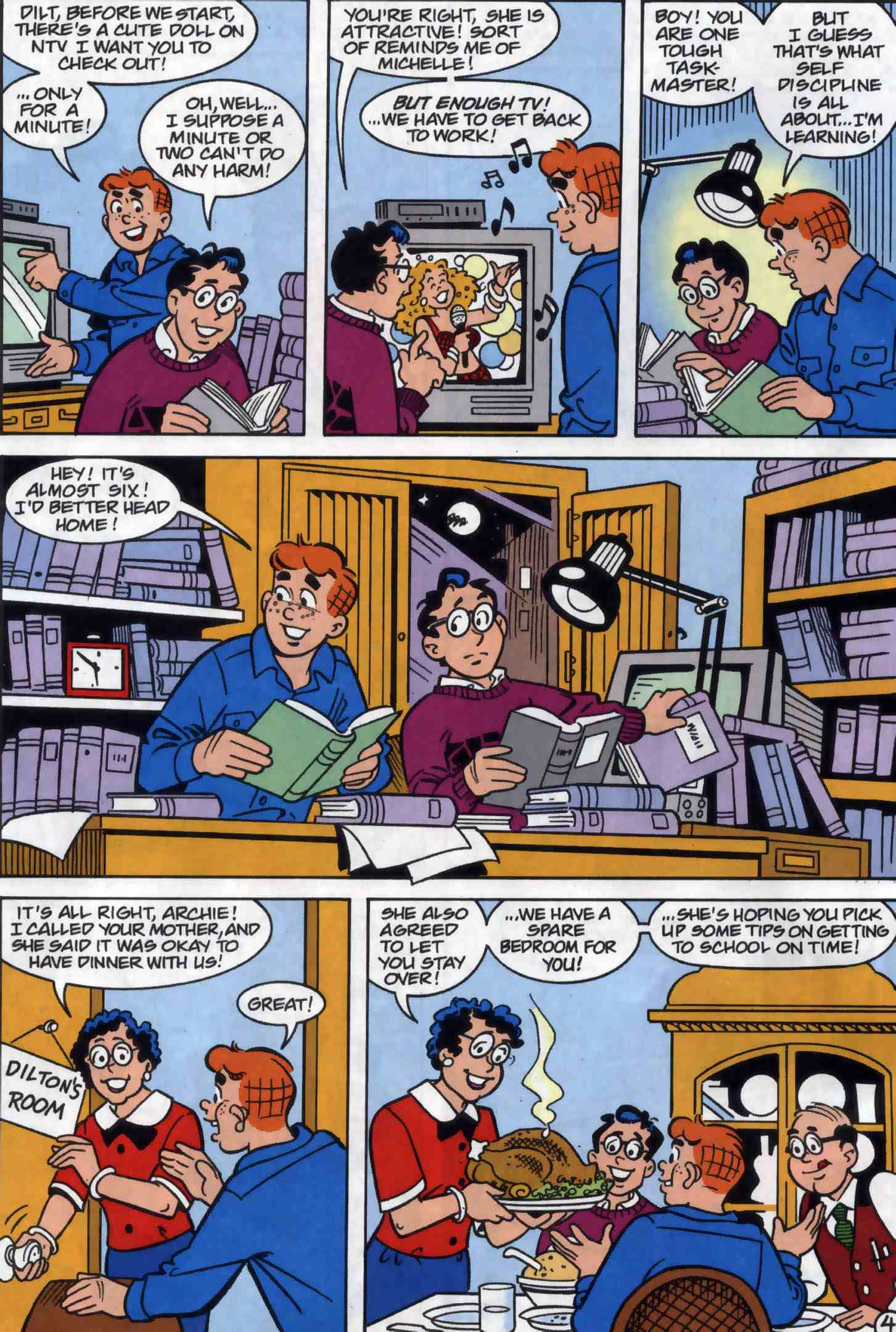 Read online Archie (1960) comic -  Issue #556 - 5